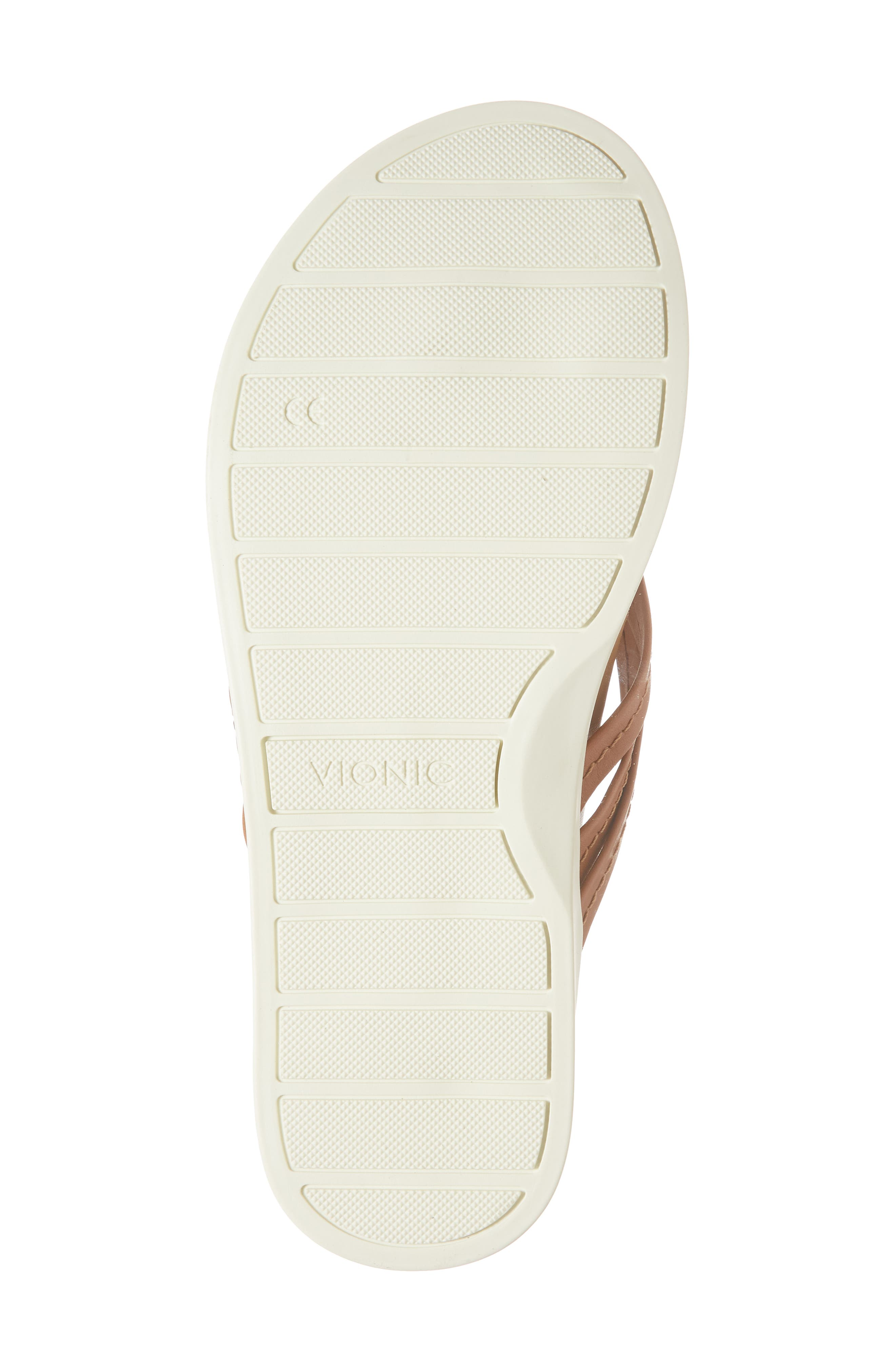 Catalina Flip Flop,                             Alternate thumbnail 5, color,                             Tan Leather