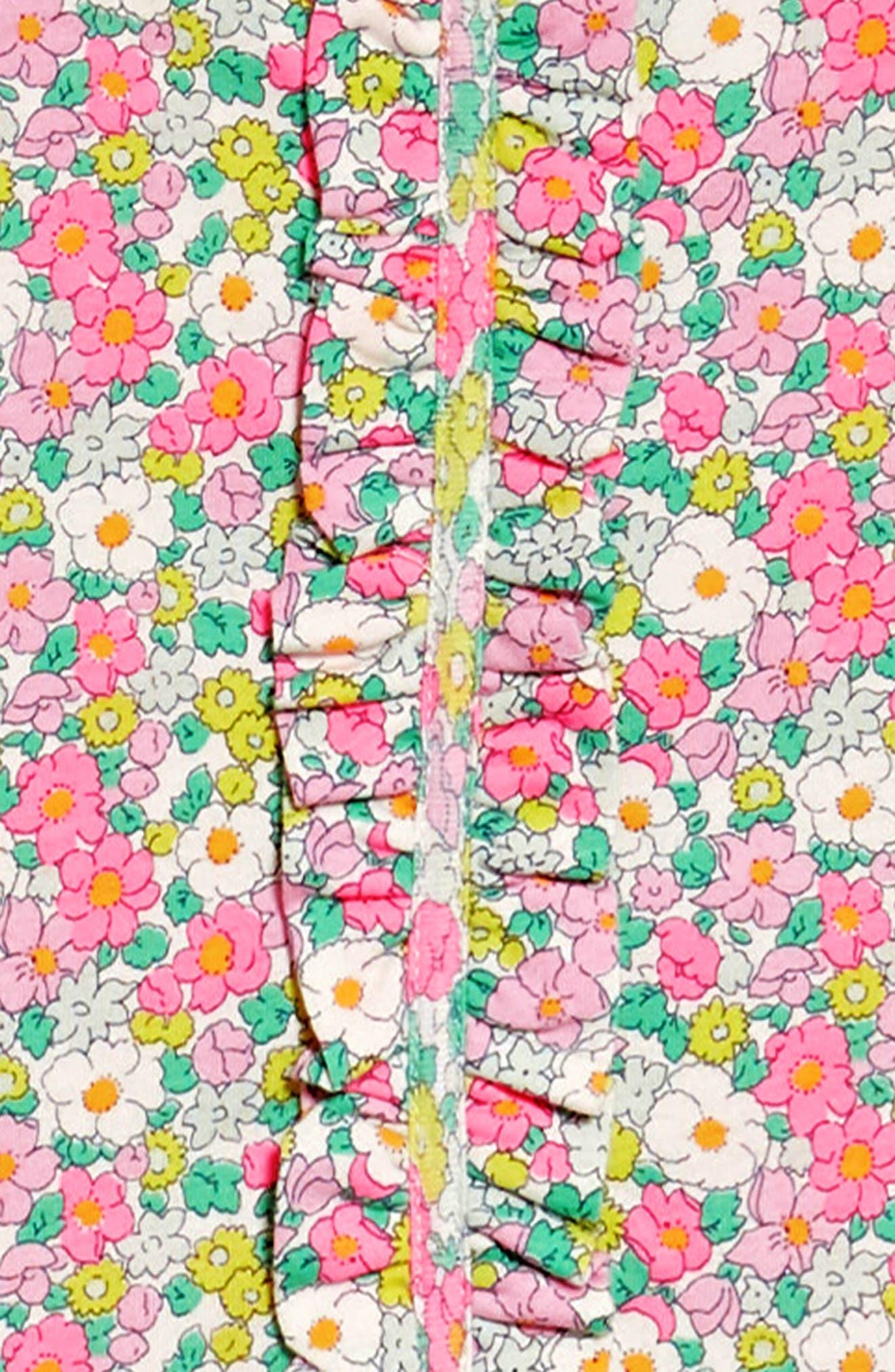 Ruffle Jersey Dress,                             Alternate thumbnail 2, color,                             Knockout Pink Vintag