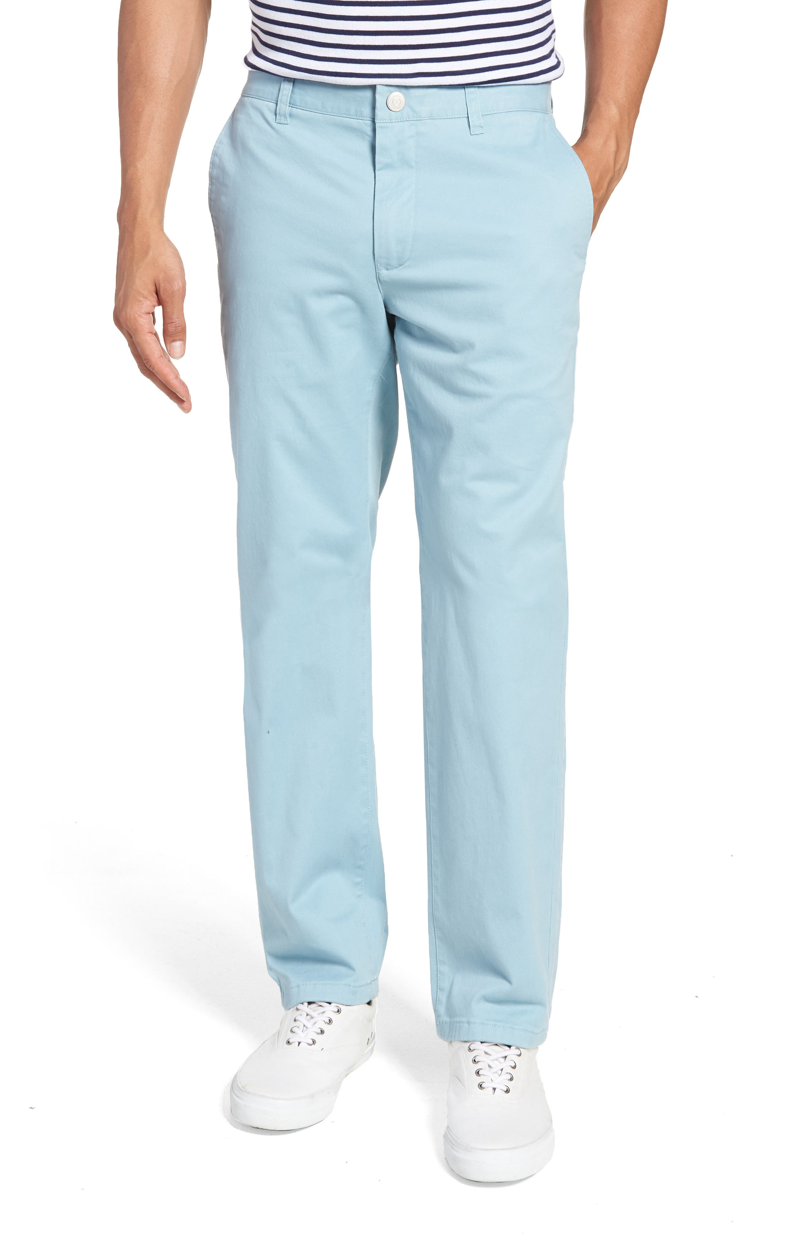 Slim Fit Stretch Washed Chinos,                         Main,                         color, Yucca Blue