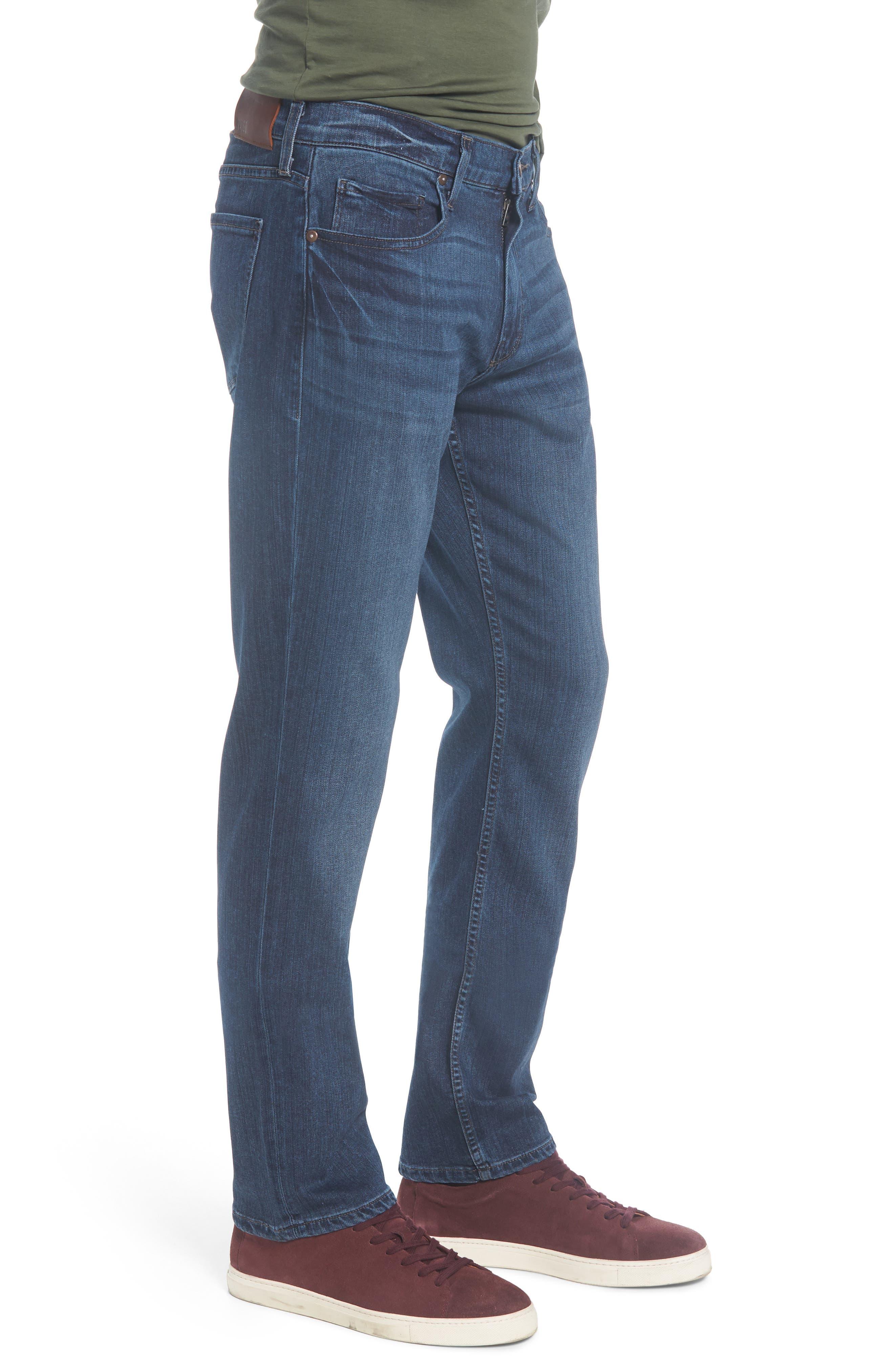 Normandie Straight Leg Jeans,                             Alternate thumbnail 3, color,                             Lowe