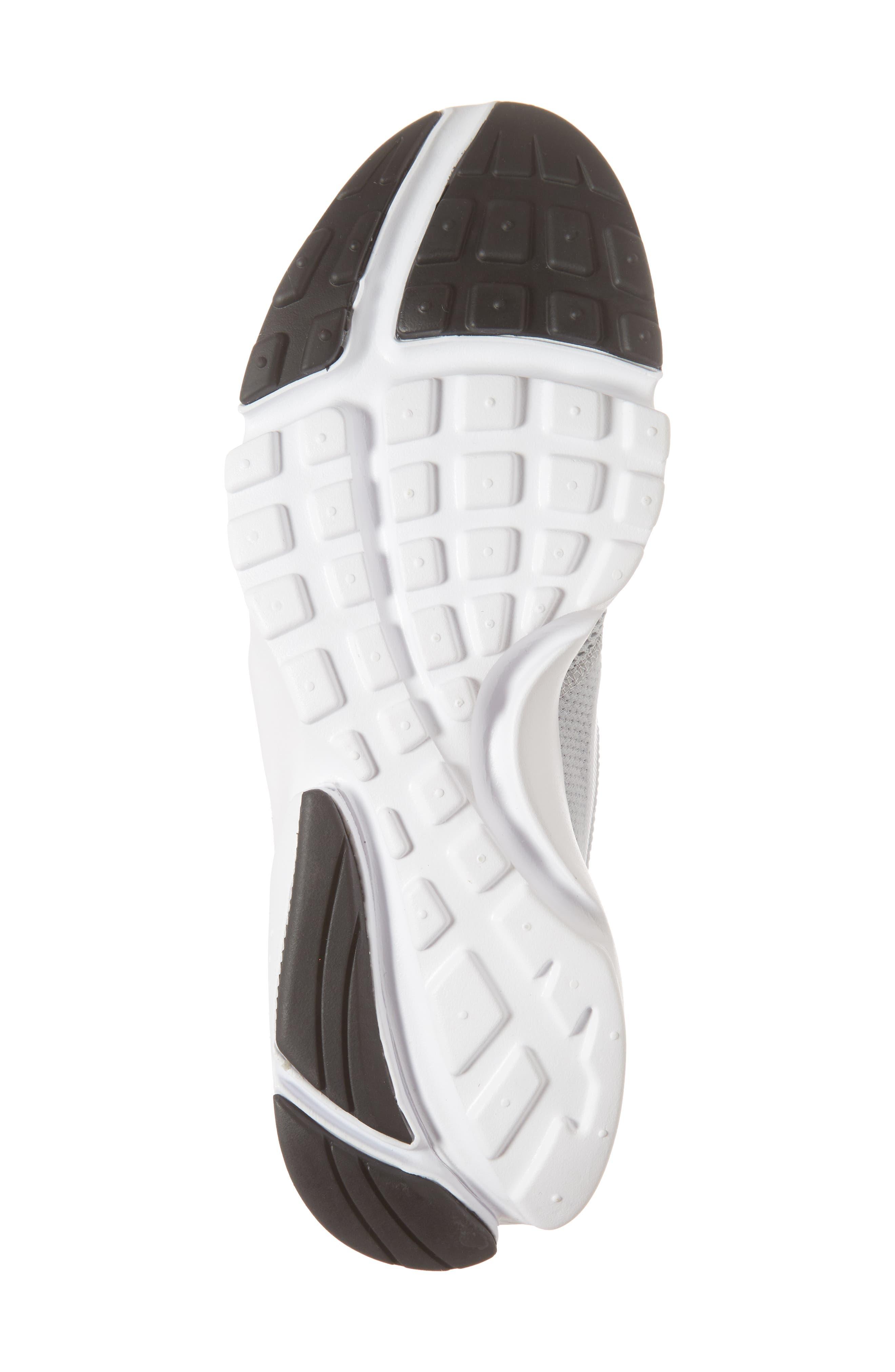 Presto Fly Sneaker,                             Alternate thumbnail 6, color,                             Wolf Grey/ White/ Volt
