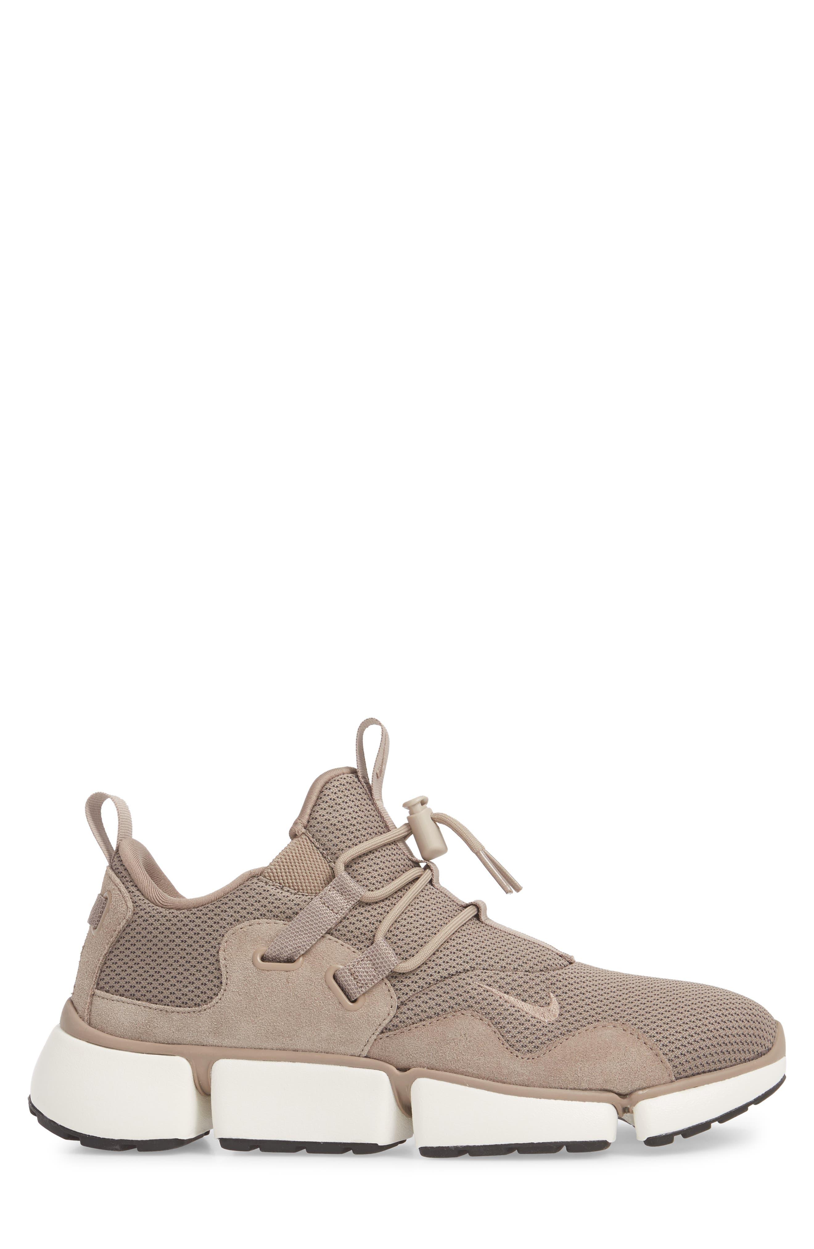 PocketKnife DM SE Sneaker,                             Alternate thumbnail 3, color,                             Sepia Stone/ Sail/ Black