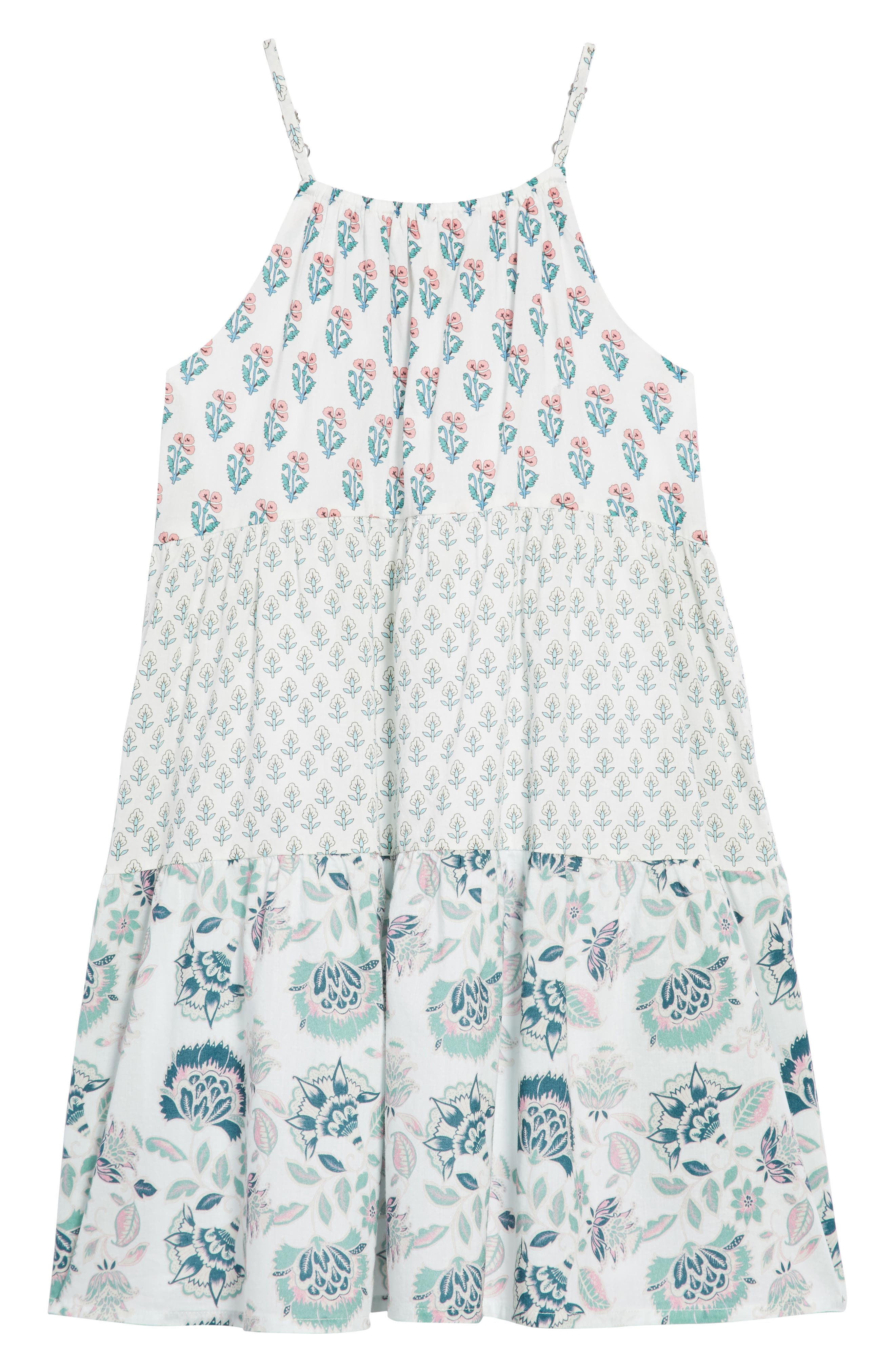 Lucy Dress,                             Main thumbnail 1, color,                             White
