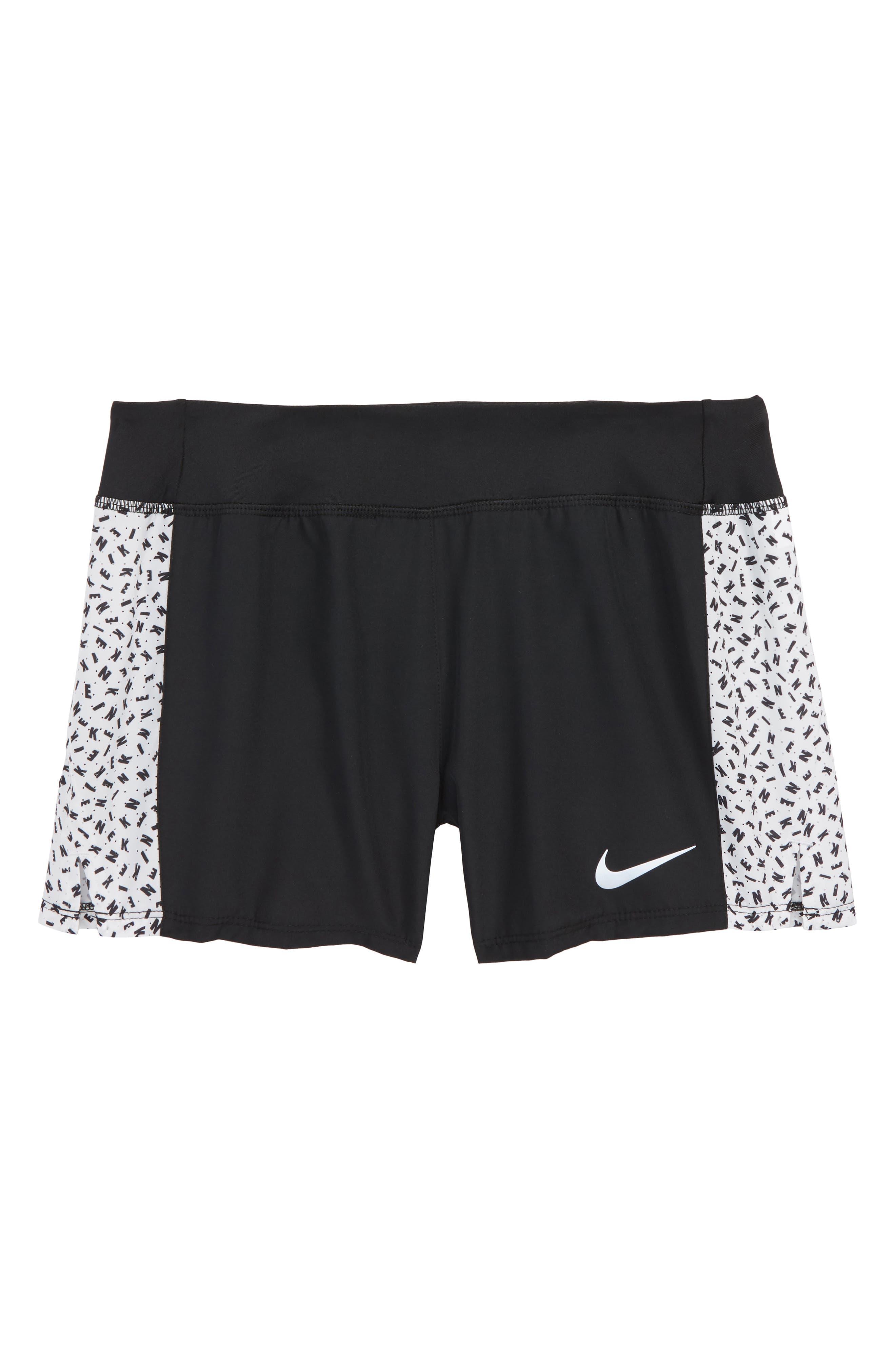 Nike Triumph AOP2 Dry Shorts (Big Girls)