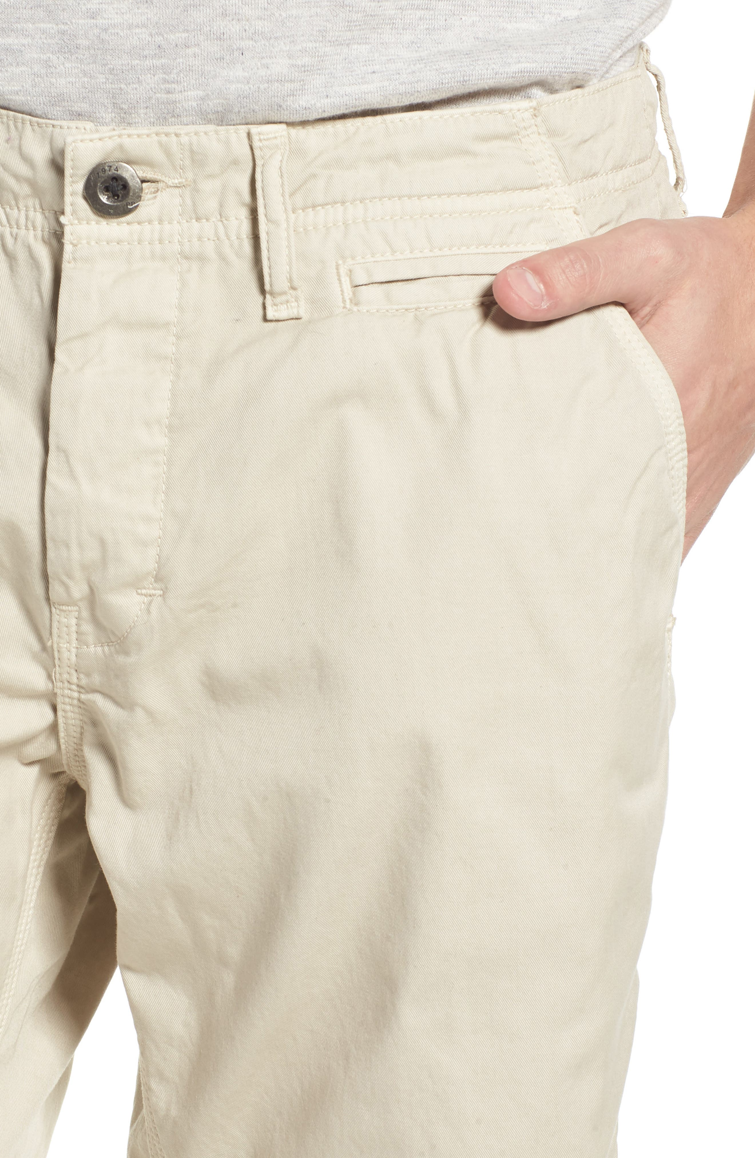 'Napa' Chino Shorts,                             Alternate thumbnail 4, color,                             String