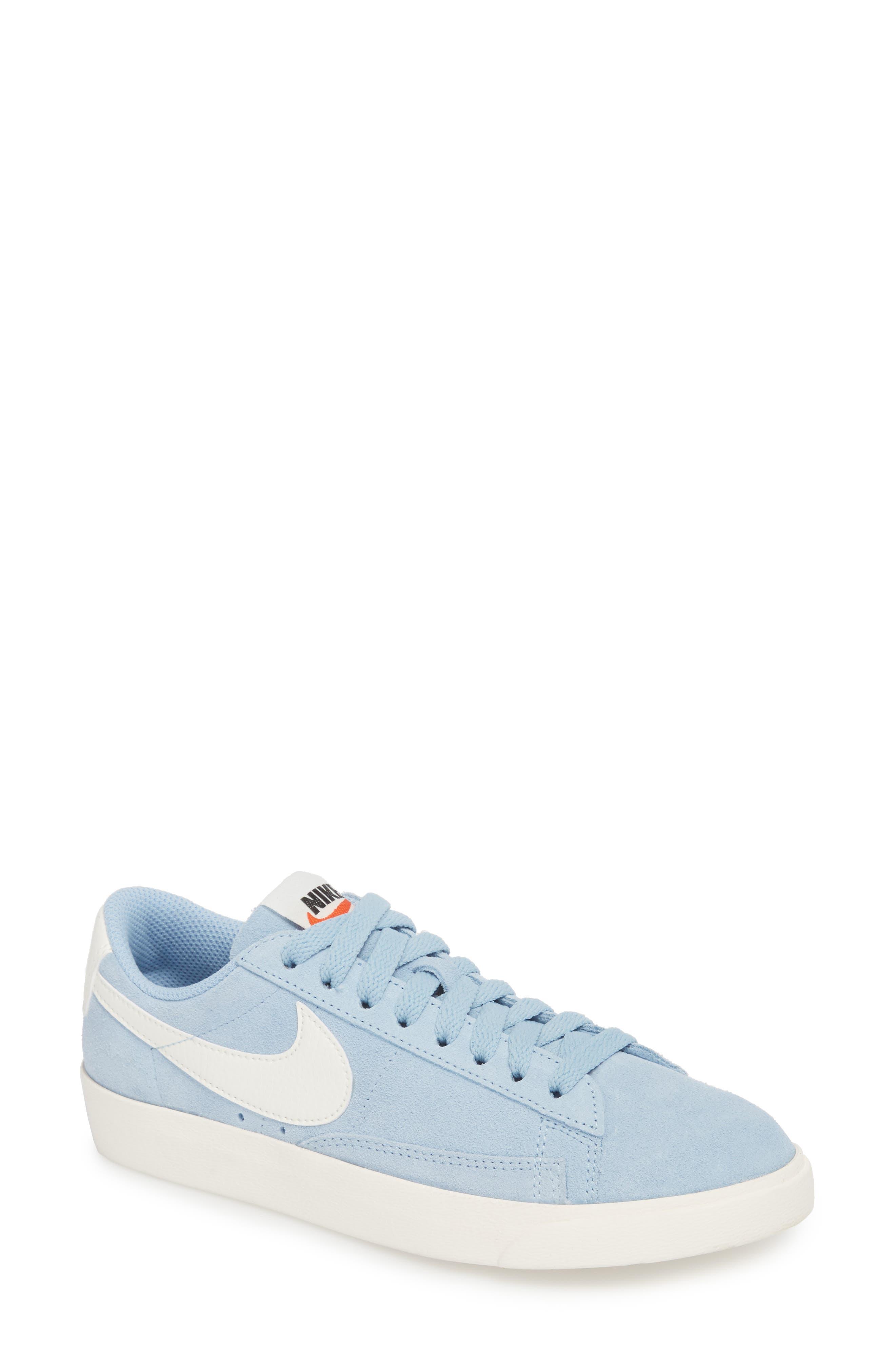 Alternate Image 1 Selected - Nike Blazer Low Sneaker (Women)