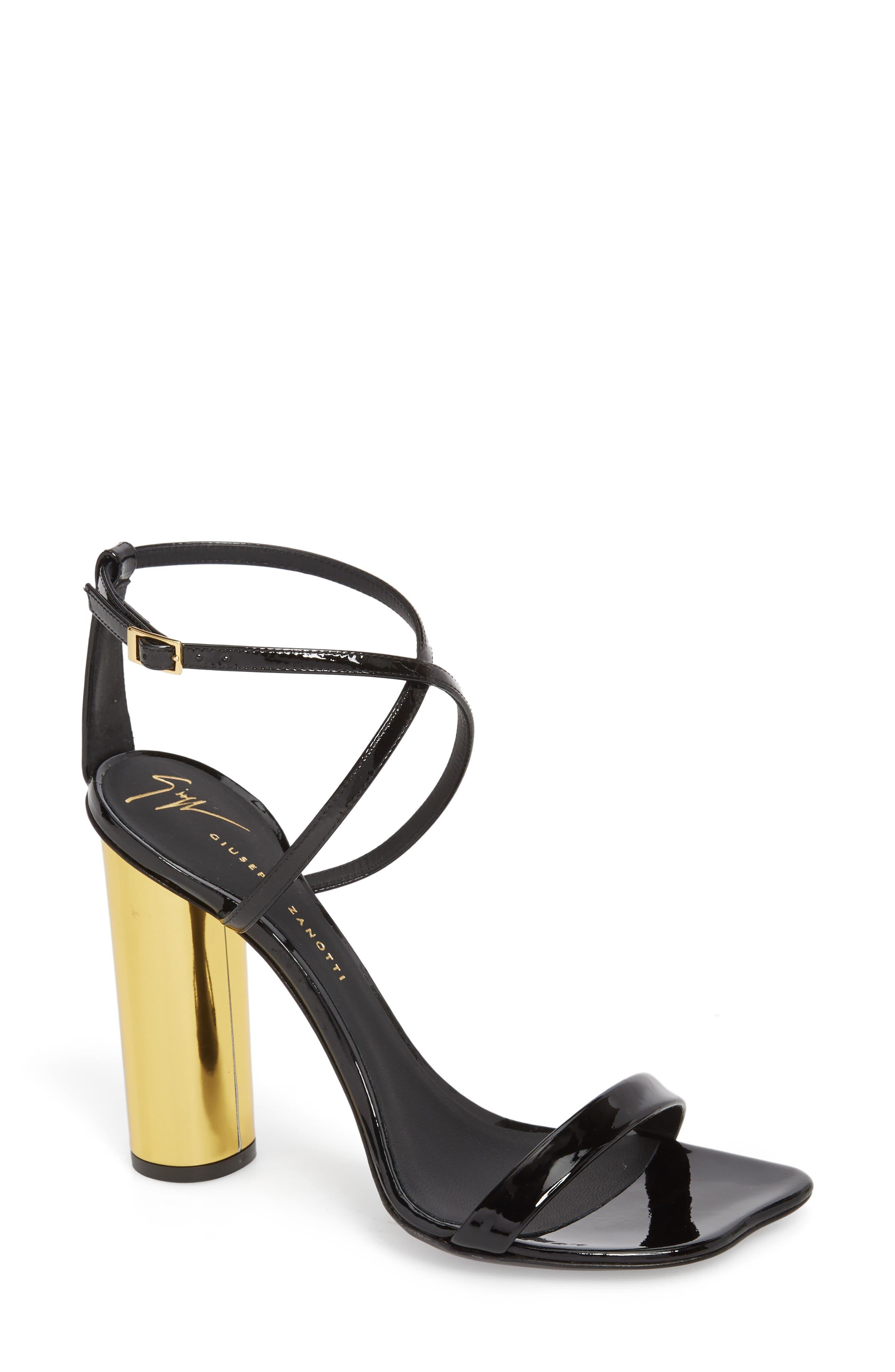 Giuseppe Zanotti Round Heel Sandal (Women)