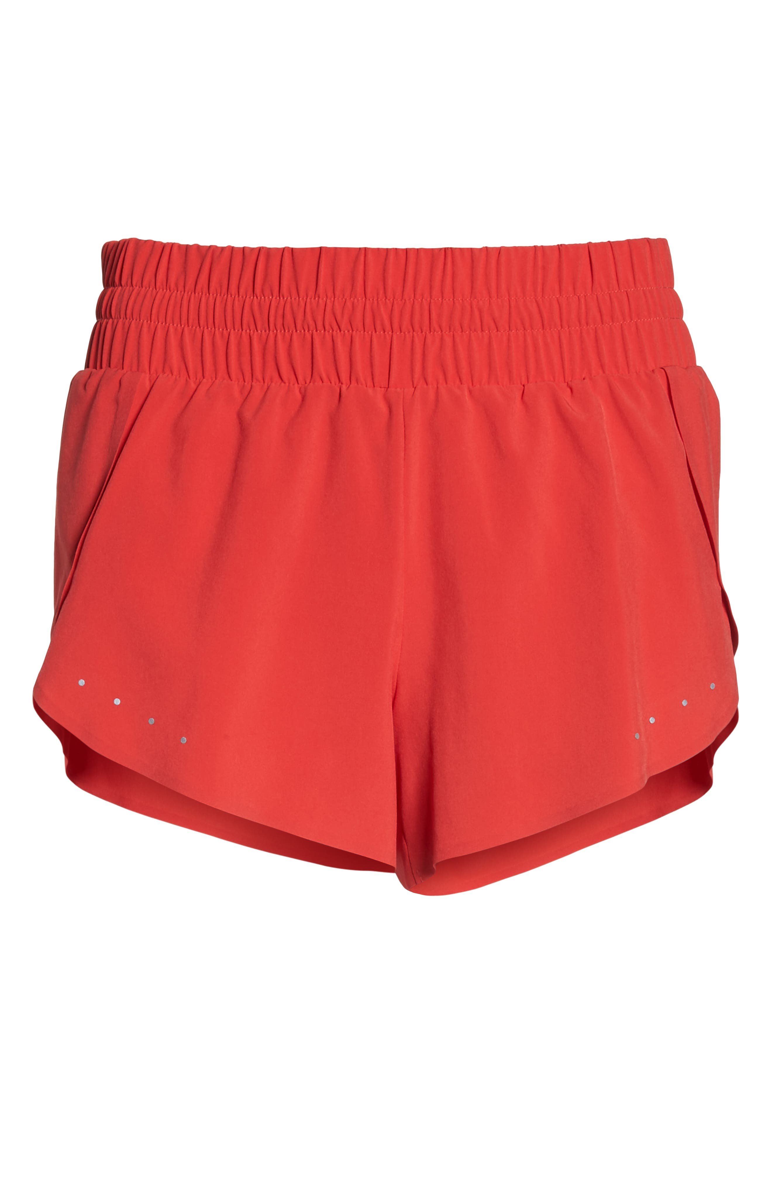Run Play Shorts,                             Alternate thumbnail 7, color,                             Red Hibiscus