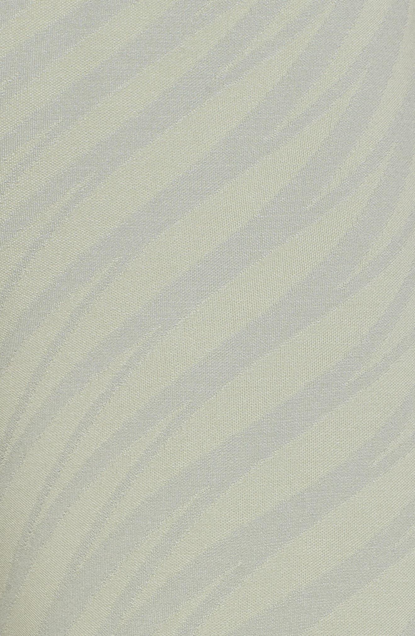 Airbrush High Waist Capris,                             Alternate thumbnail 6, color,                             Pistachio Waves