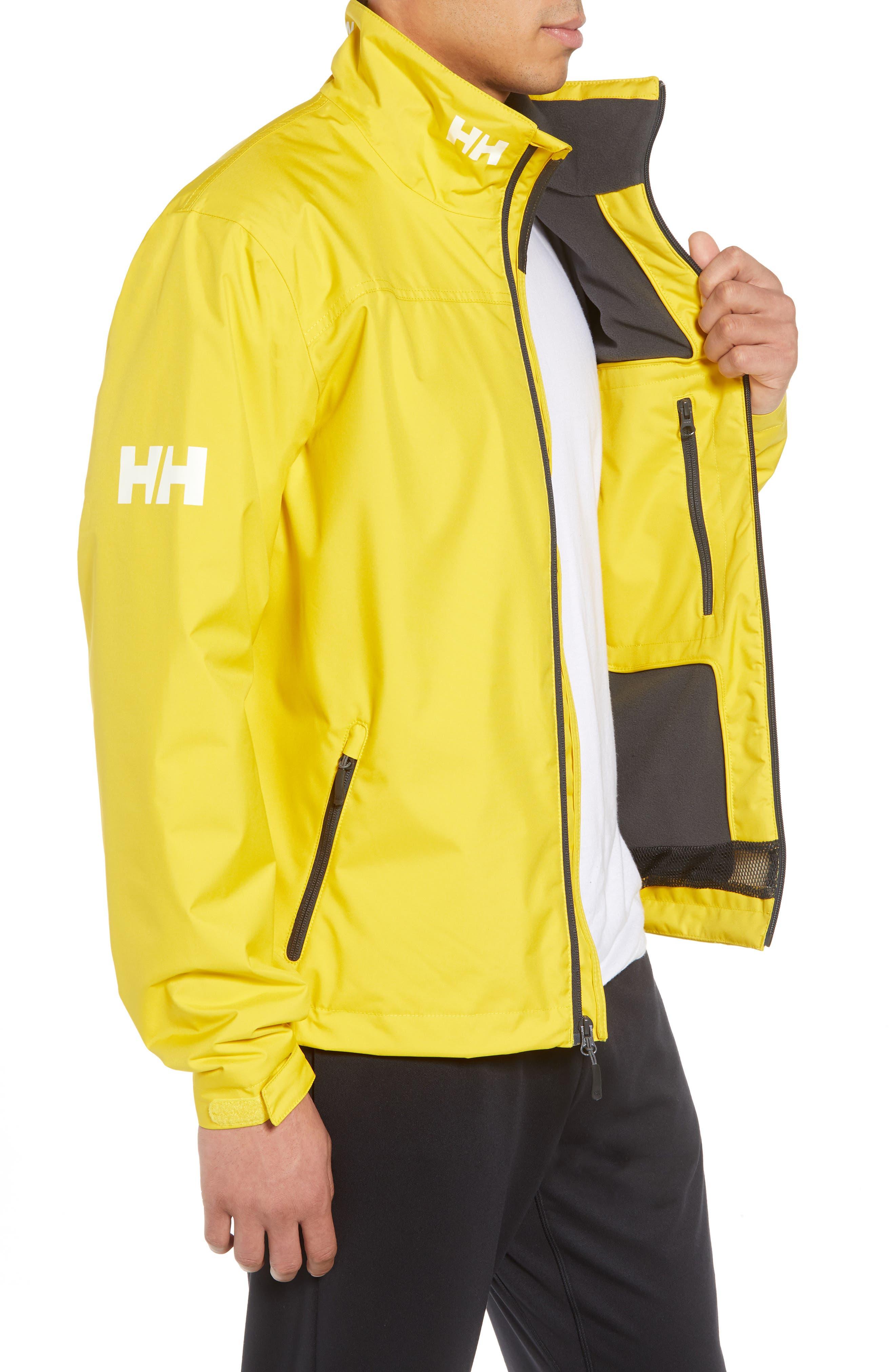 'Crew' Waterproof & Windproof Jacket,                             Alternate thumbnail 3, color,                             Sulphur