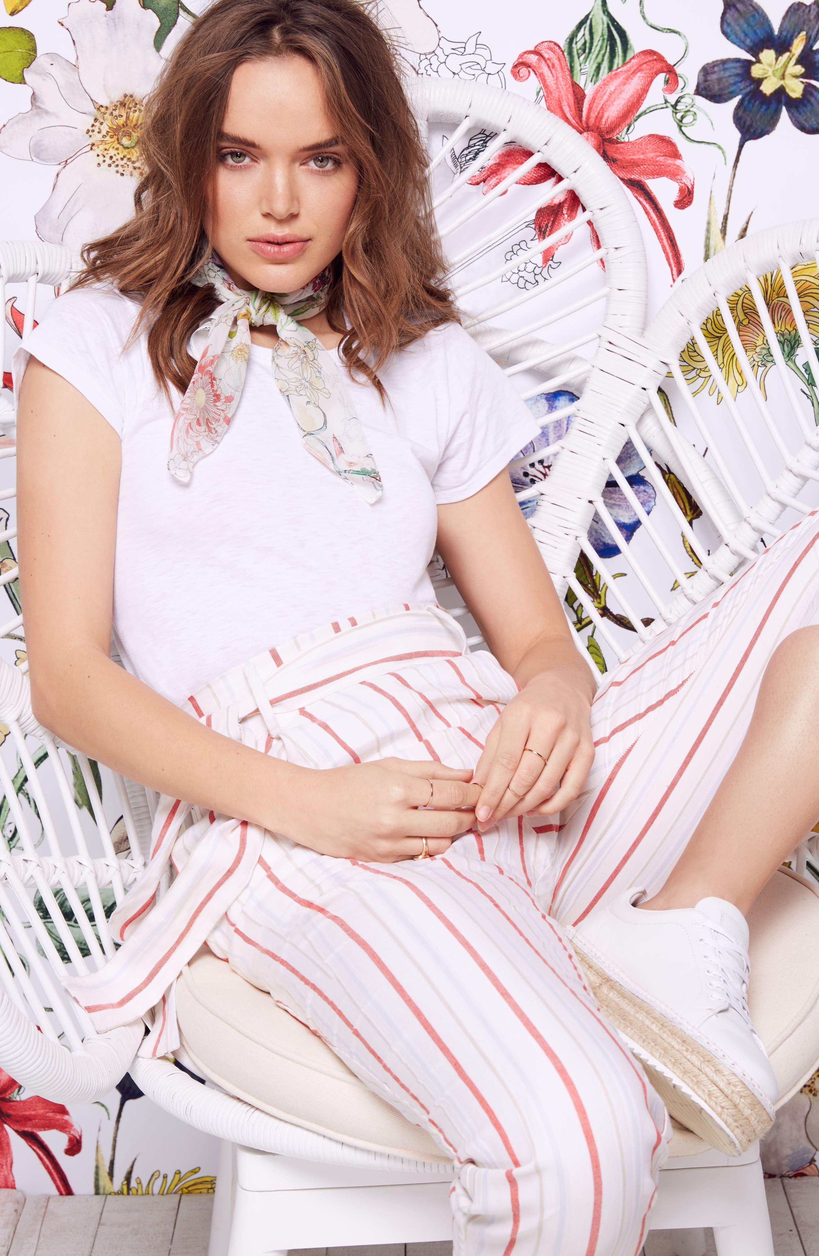 Ramsey Stripe Cotton Twill Pants,                             Alternate thumbnail 2, color,                             Multi