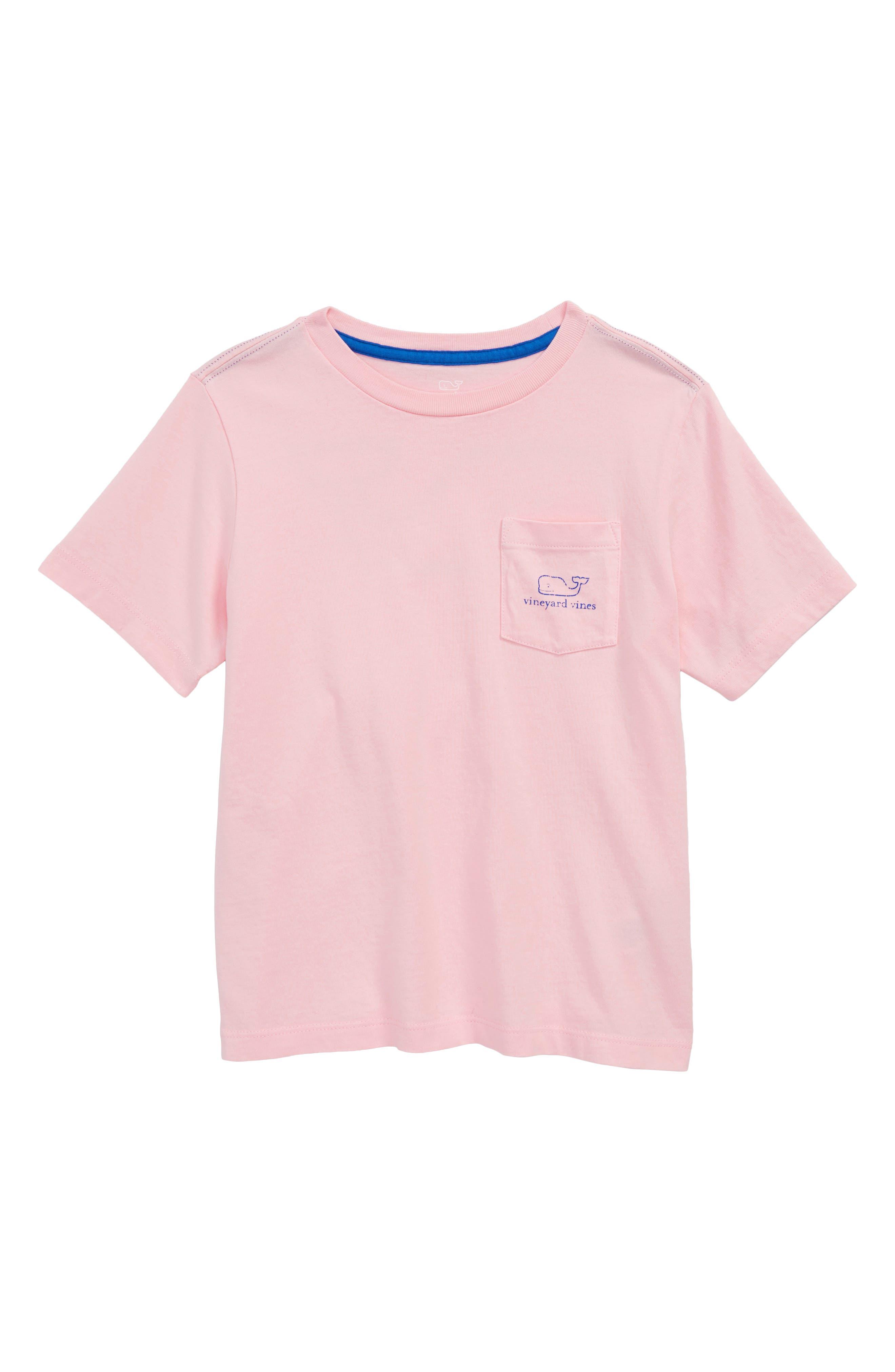 Whale T-Shirt,                         Main,                         color, Flamingo