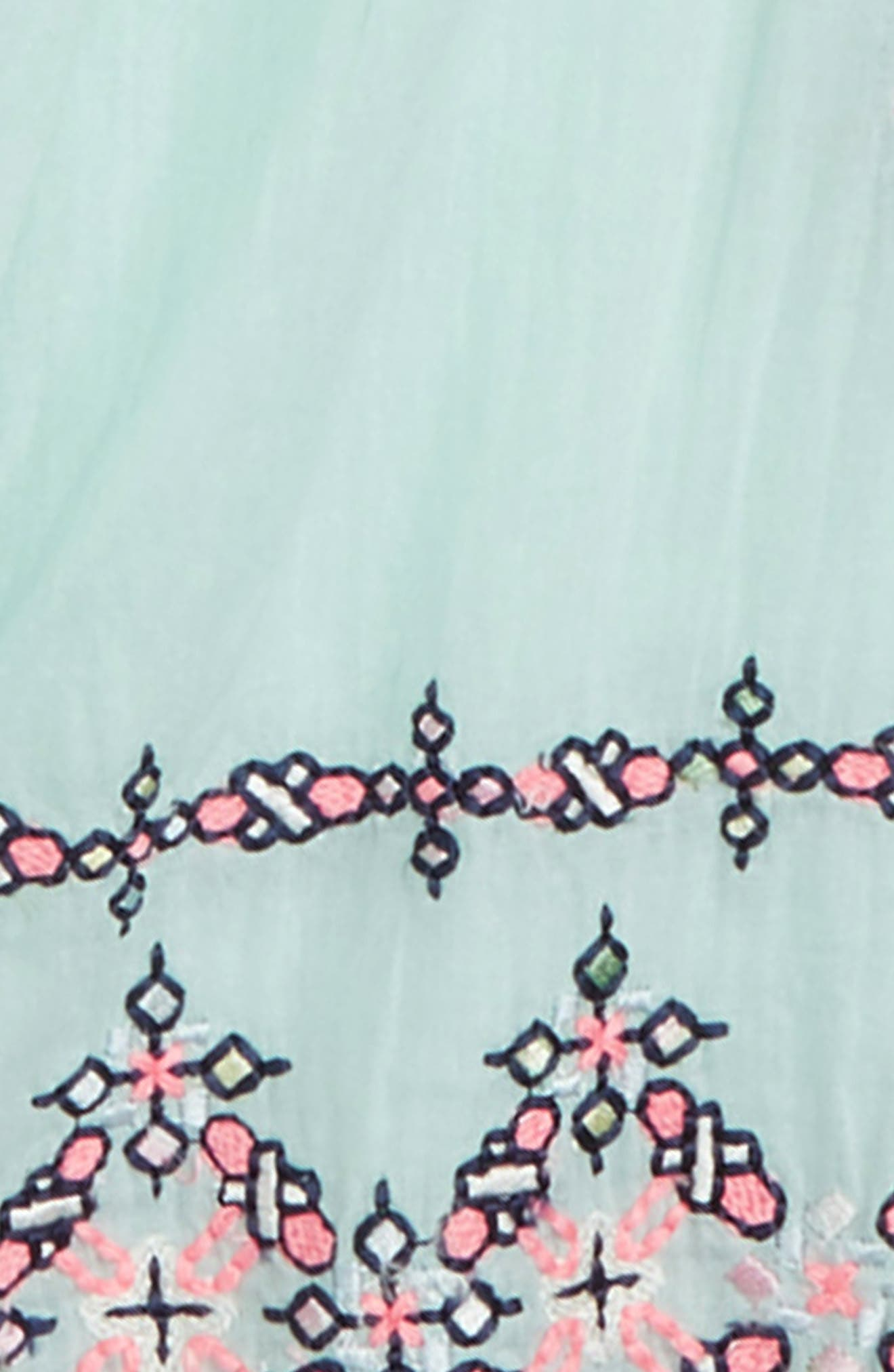 Naomi Embroidered Top,                             Alternate thumbnail 2, color,                             Mint