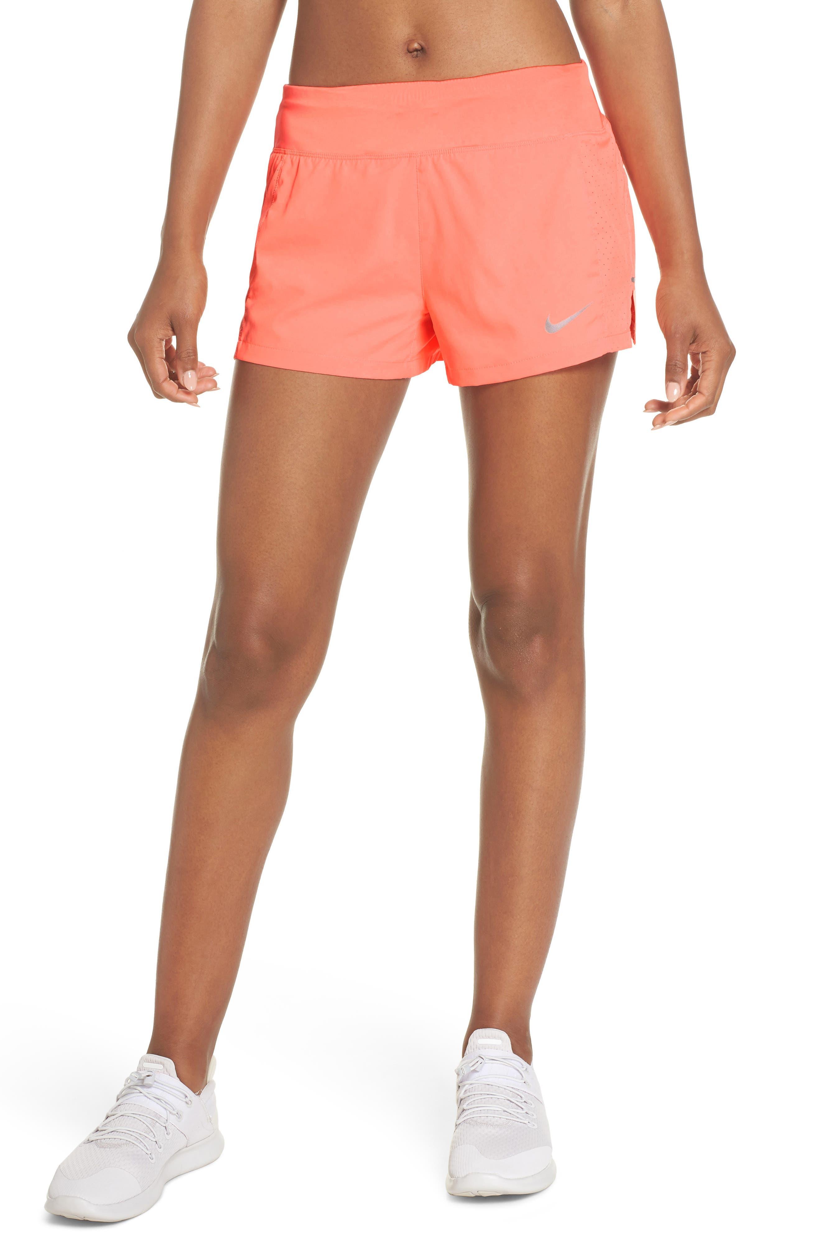 Dry Eclipse Running Shorts,                             Main thumbnail 1, color,                             Crimson Pulse