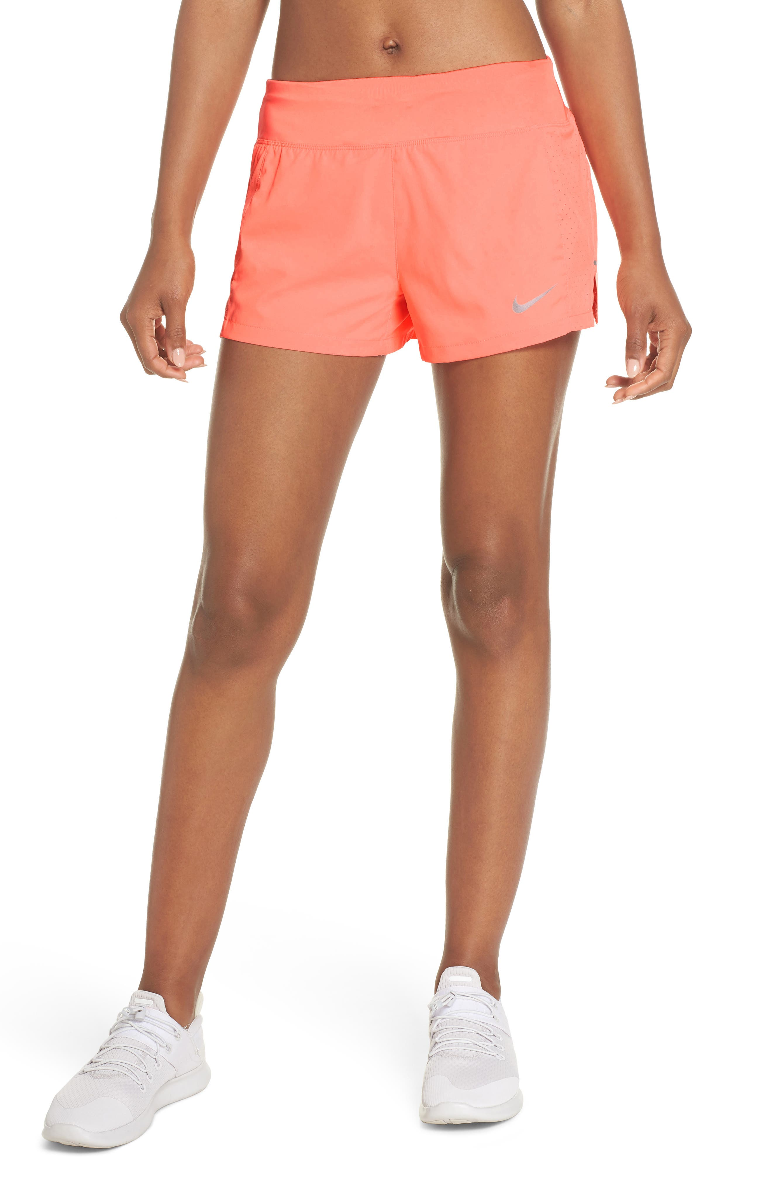 Dry Eclipse Running Shorts,                         Main,                         color, Crimson Pulse