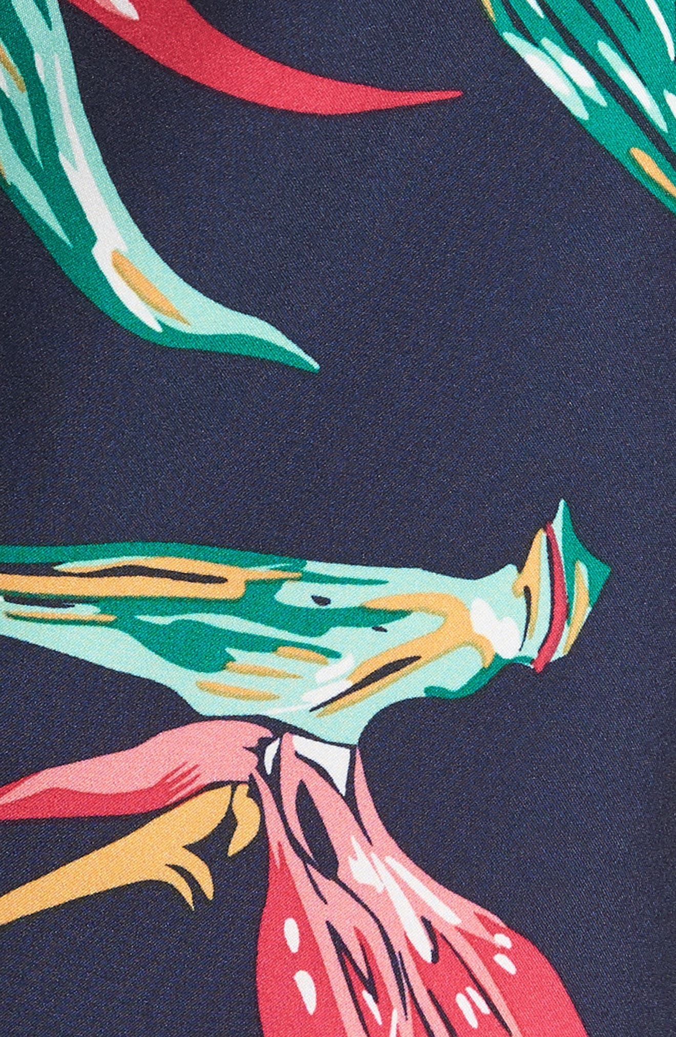 Banzai 9-Inch Swim Trunks,                             Alternate thumbnail 5, color,                             Bird Of Paradise