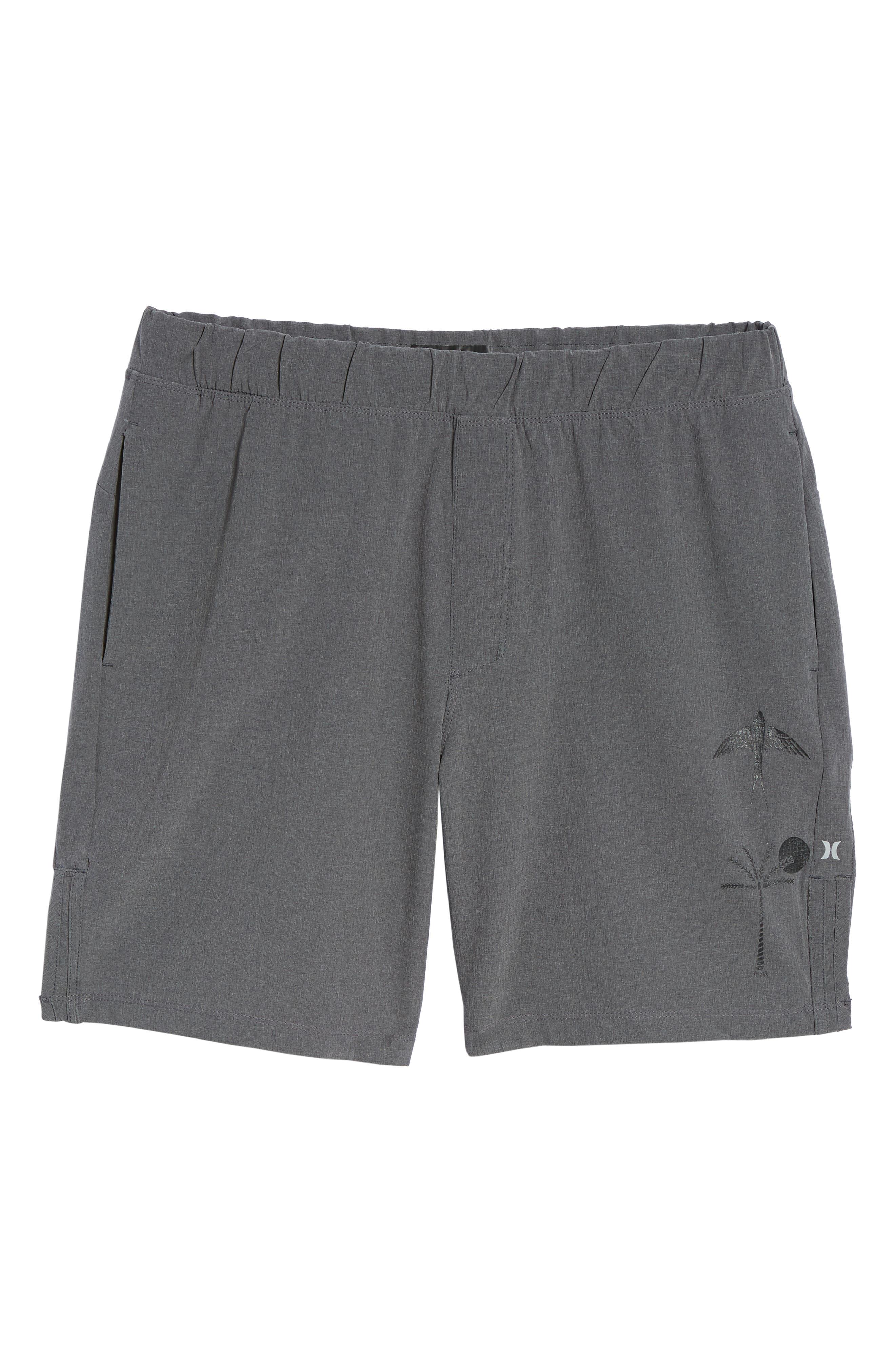 Alpha Trainer K-38 Shorts,                             Alternate thumbnail 6, color,                             Black