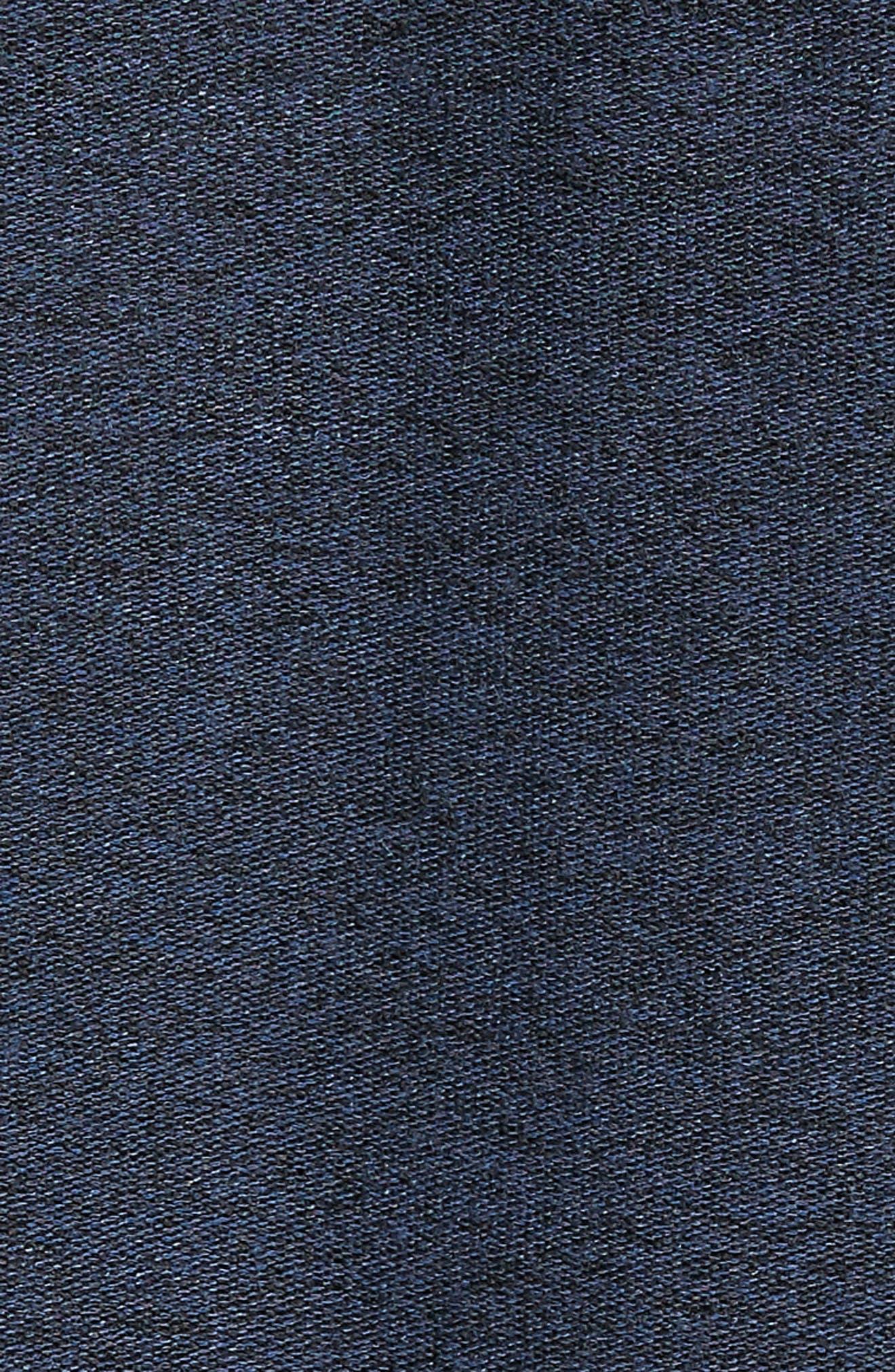Ultra Soft Crewneck Sweatshirt,                             Alternate thumbnail 5, color,                             Navy Indigo Marl