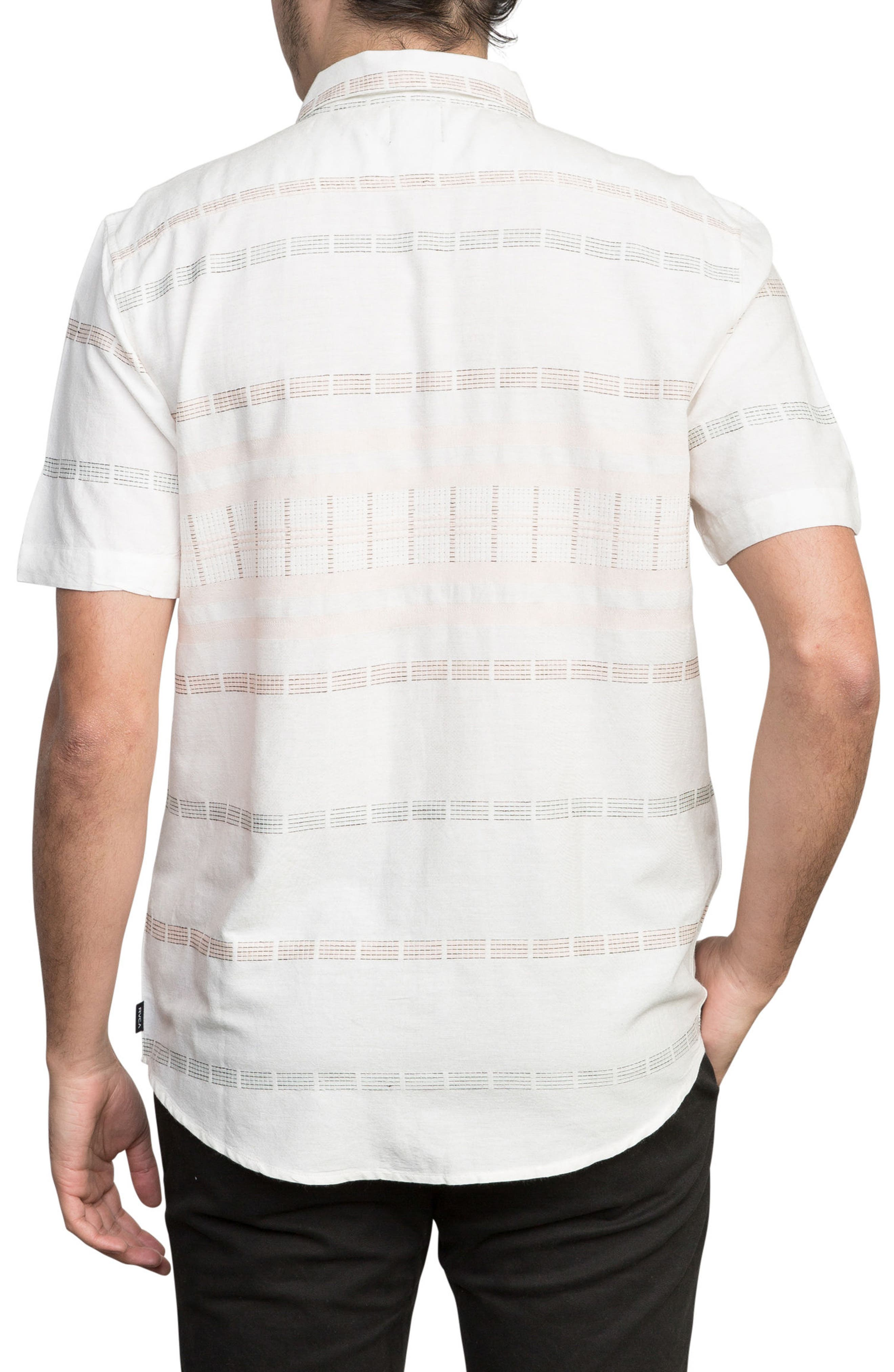 Krazy Kat Woven Shirt,                             Alternate thumbnail 2, color,                             Antique White