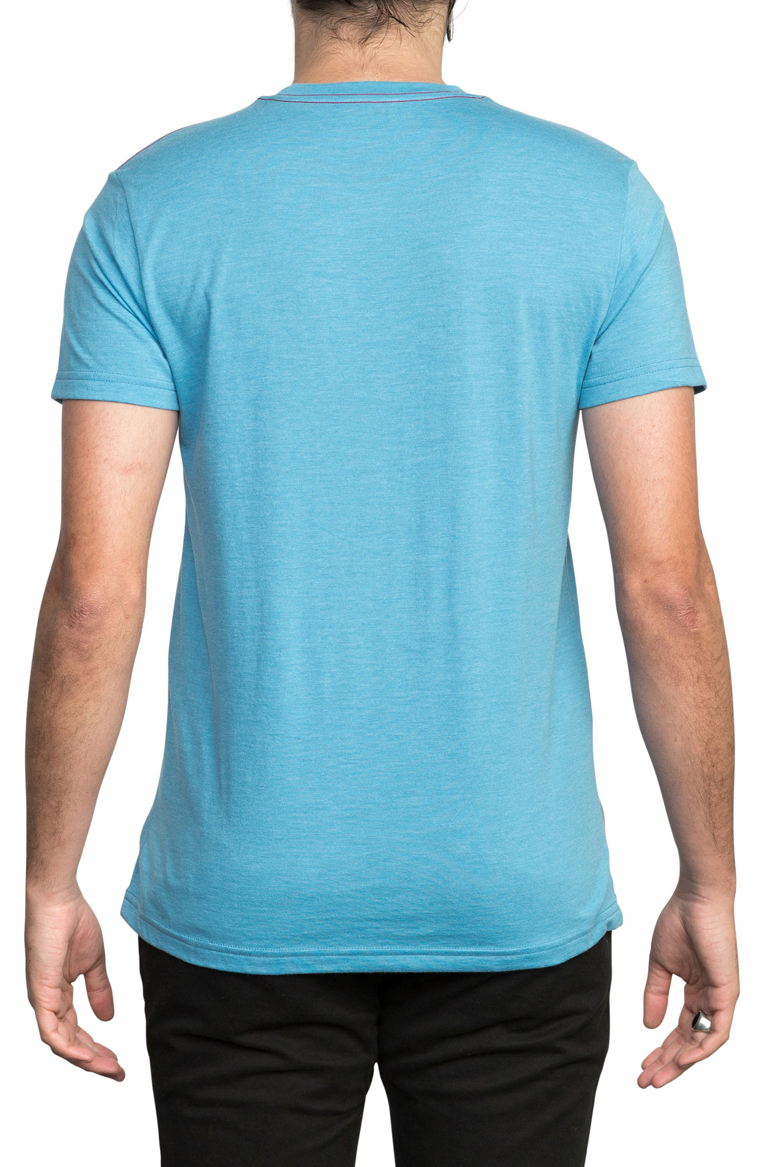 McFloral T-Shirt,                             Alternate thumbnail 2, color,                             Lagoon