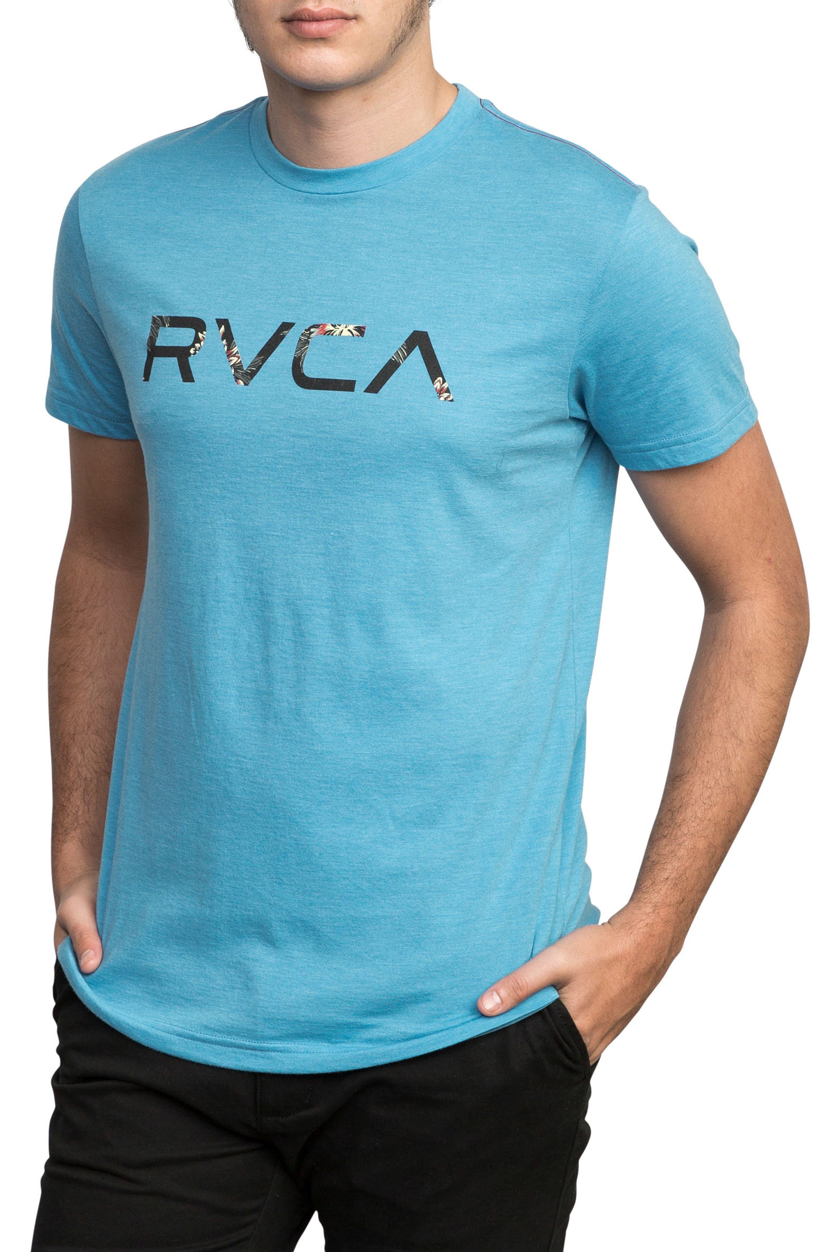 McFloral T-Shirt,                             Alternate thumbnail 3, color,                             Lagoon