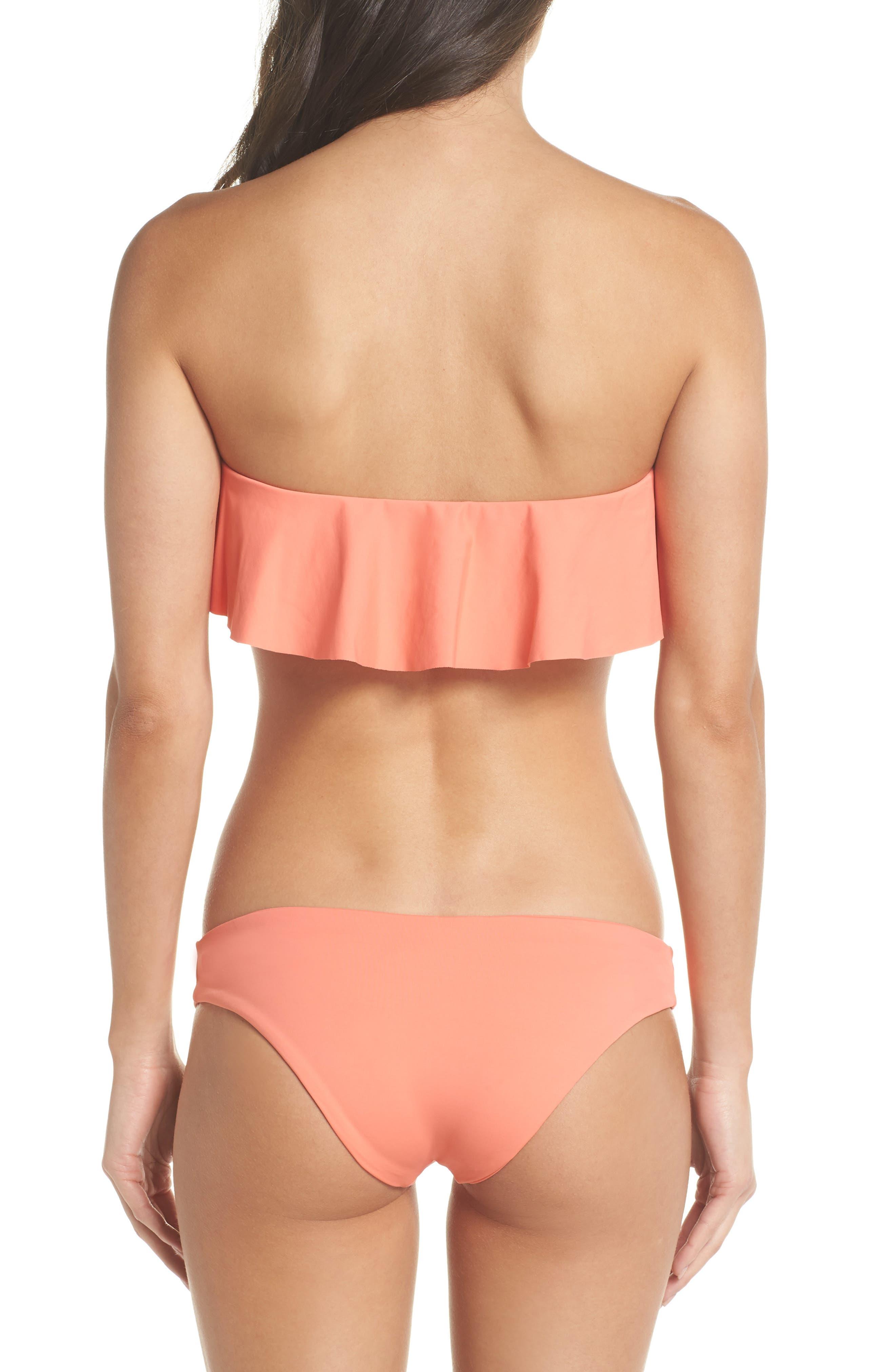 Lynn Ruffle Bikini Top,                             Alternate thumbnail 6, color,                             Fruit Punch
