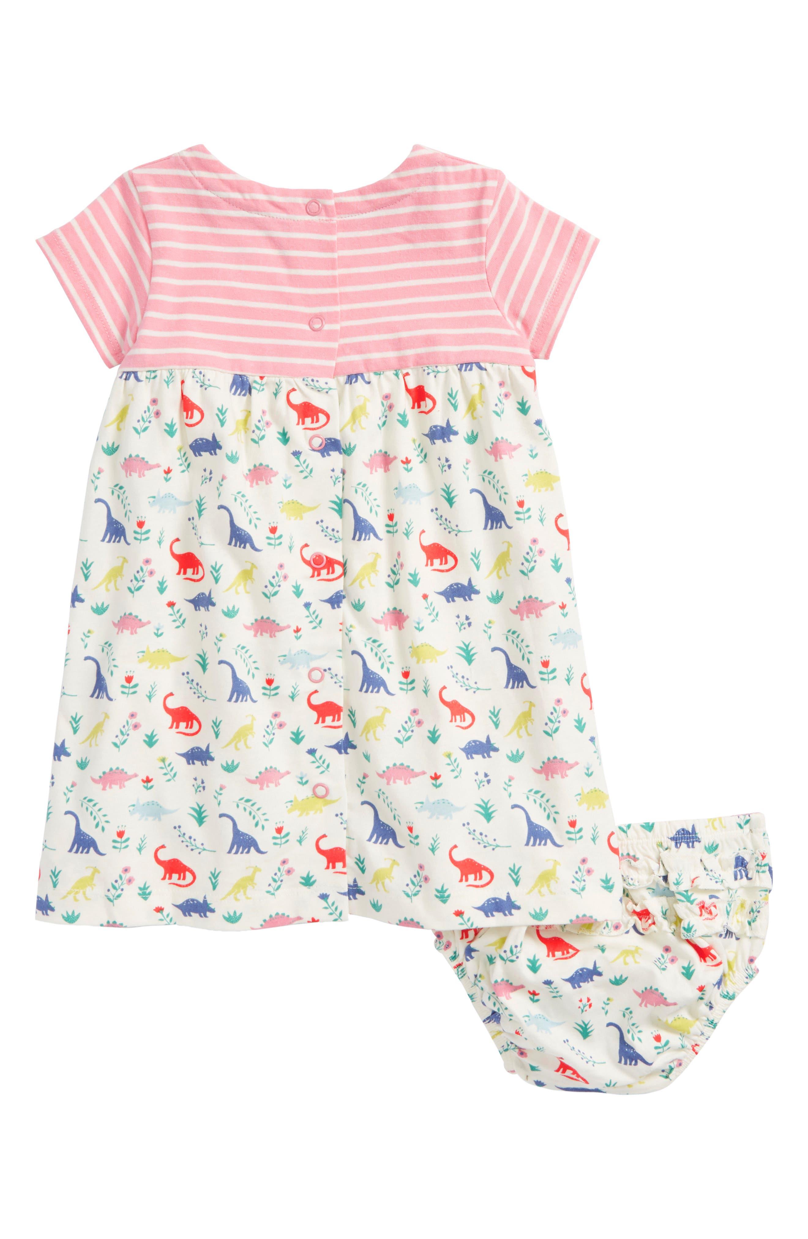 Alternate Image 2  - Mini Boden Hotchpotch Jersey Dress (Baby Girls & Toddler Girls)