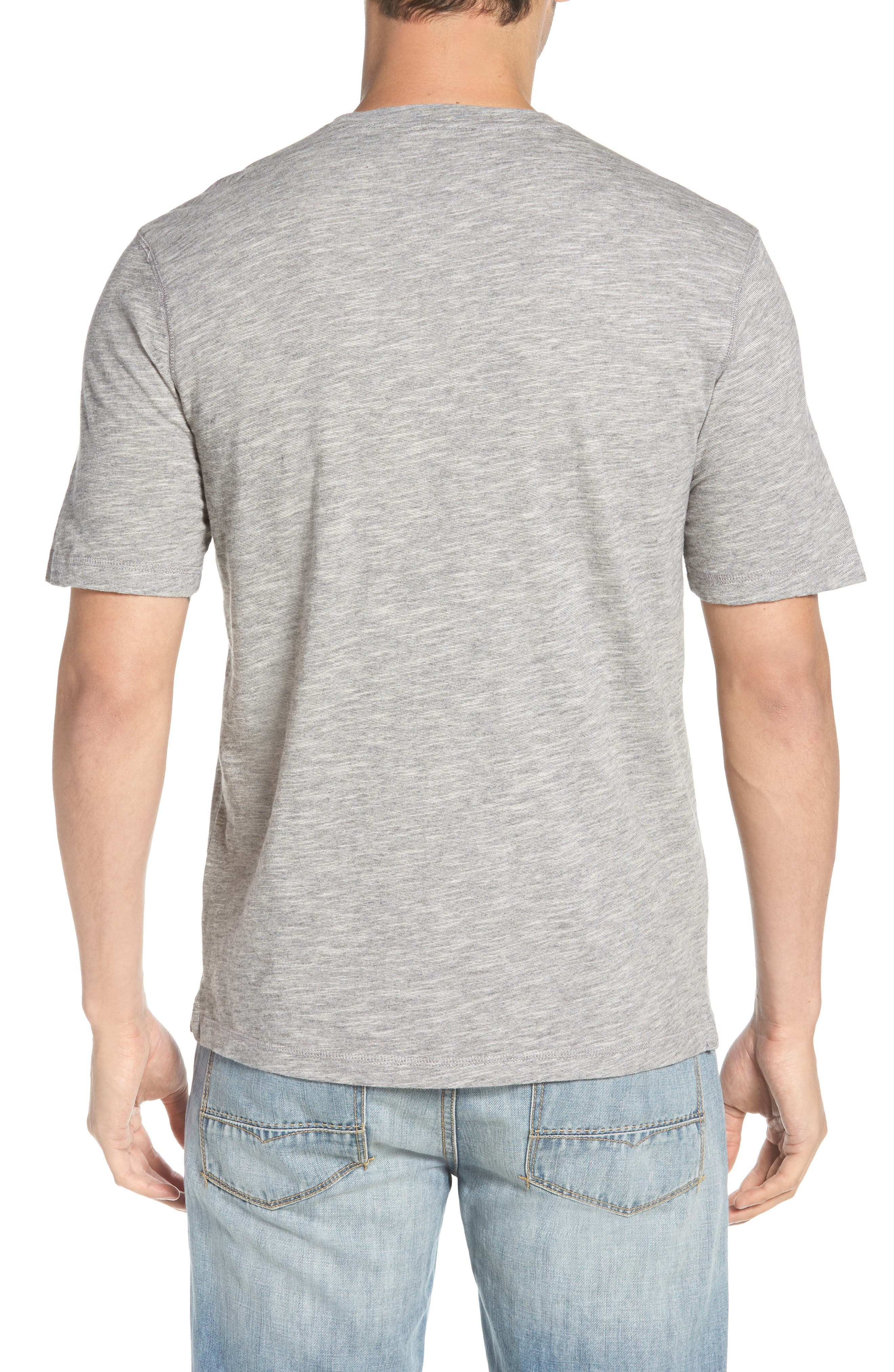 Slubbie Regular Fit Crewneck T-Shirt,                             Alternate thumbnail 2, color,                             Regatta