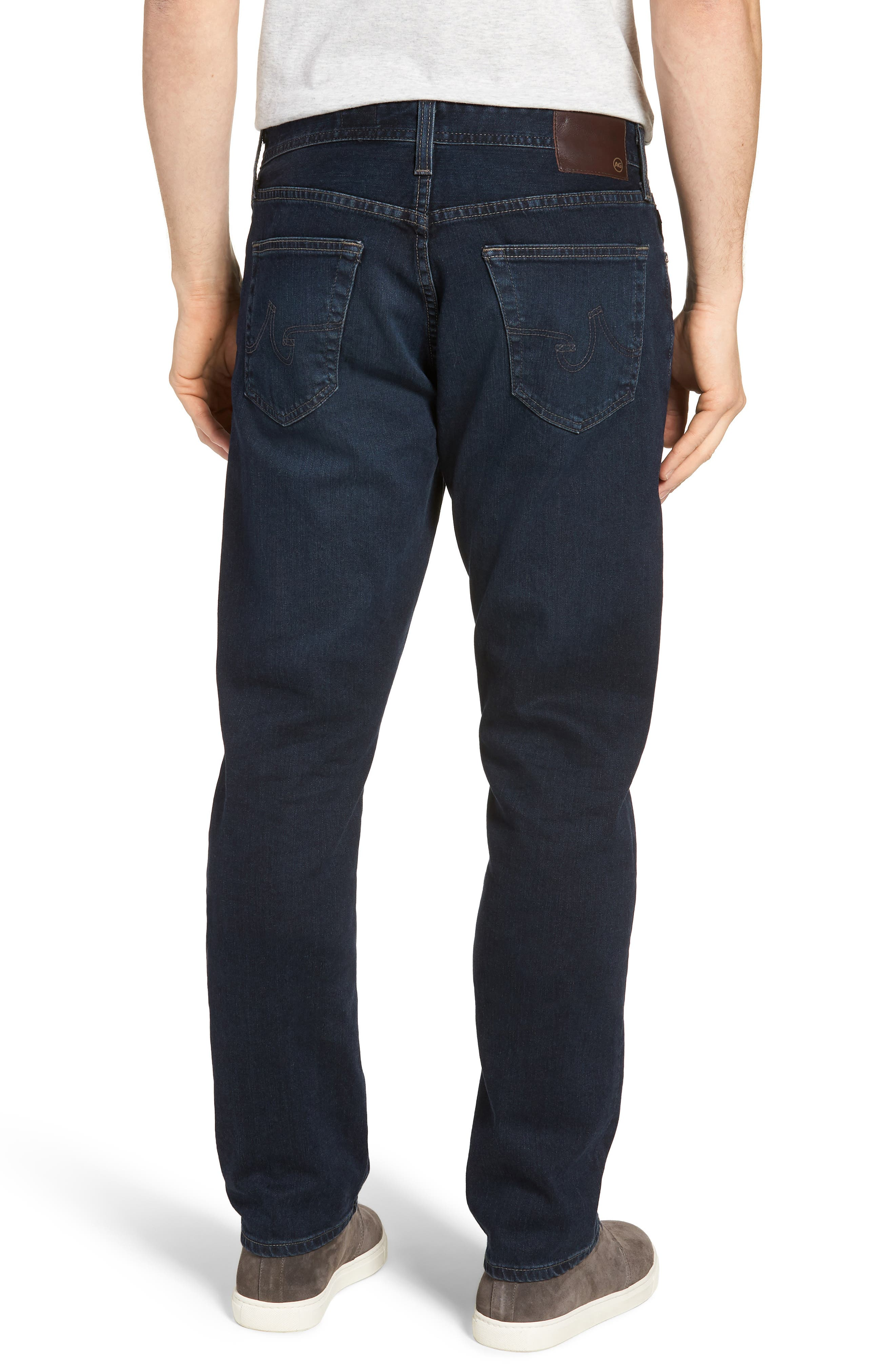Everett Slim Straight Fit Jeans,                             Alternate thumbnail 2, color,                             Shadow Mountain