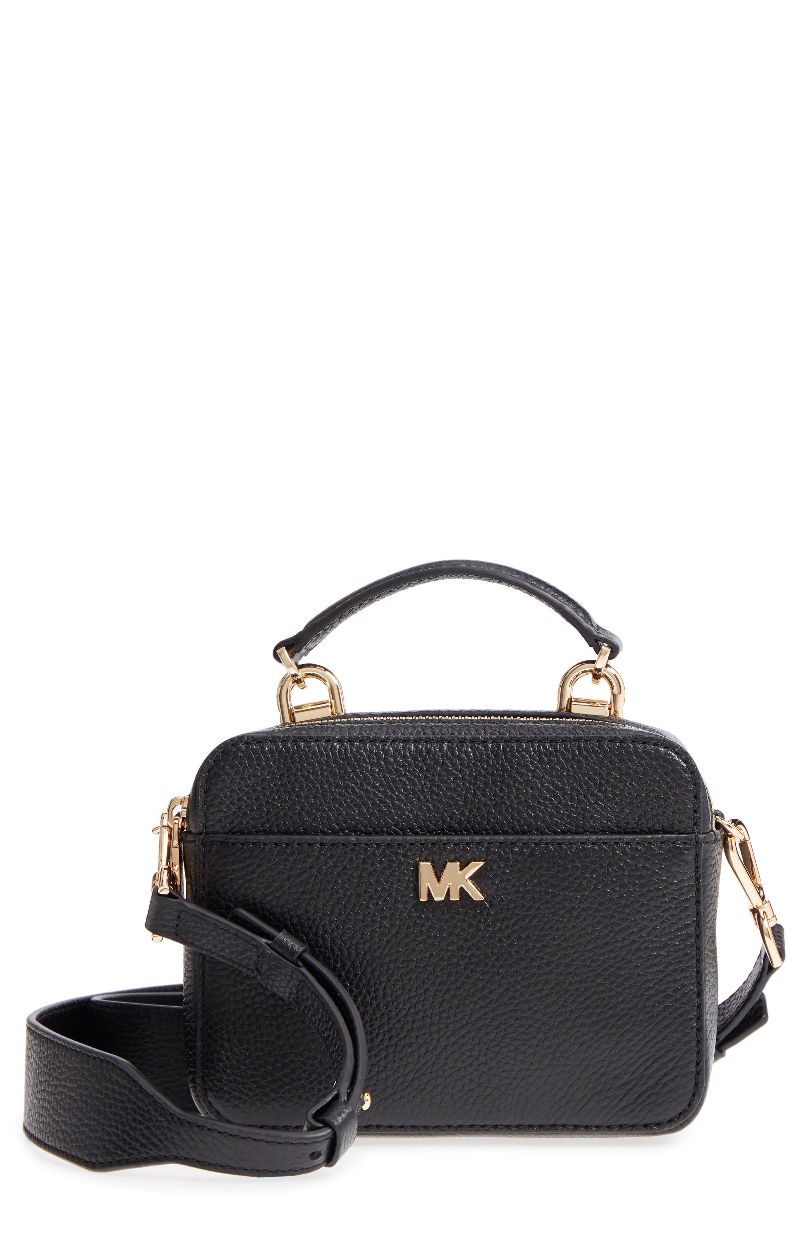 MICHAEL Michael Kors Mott Pebbled Leather Crossobdy