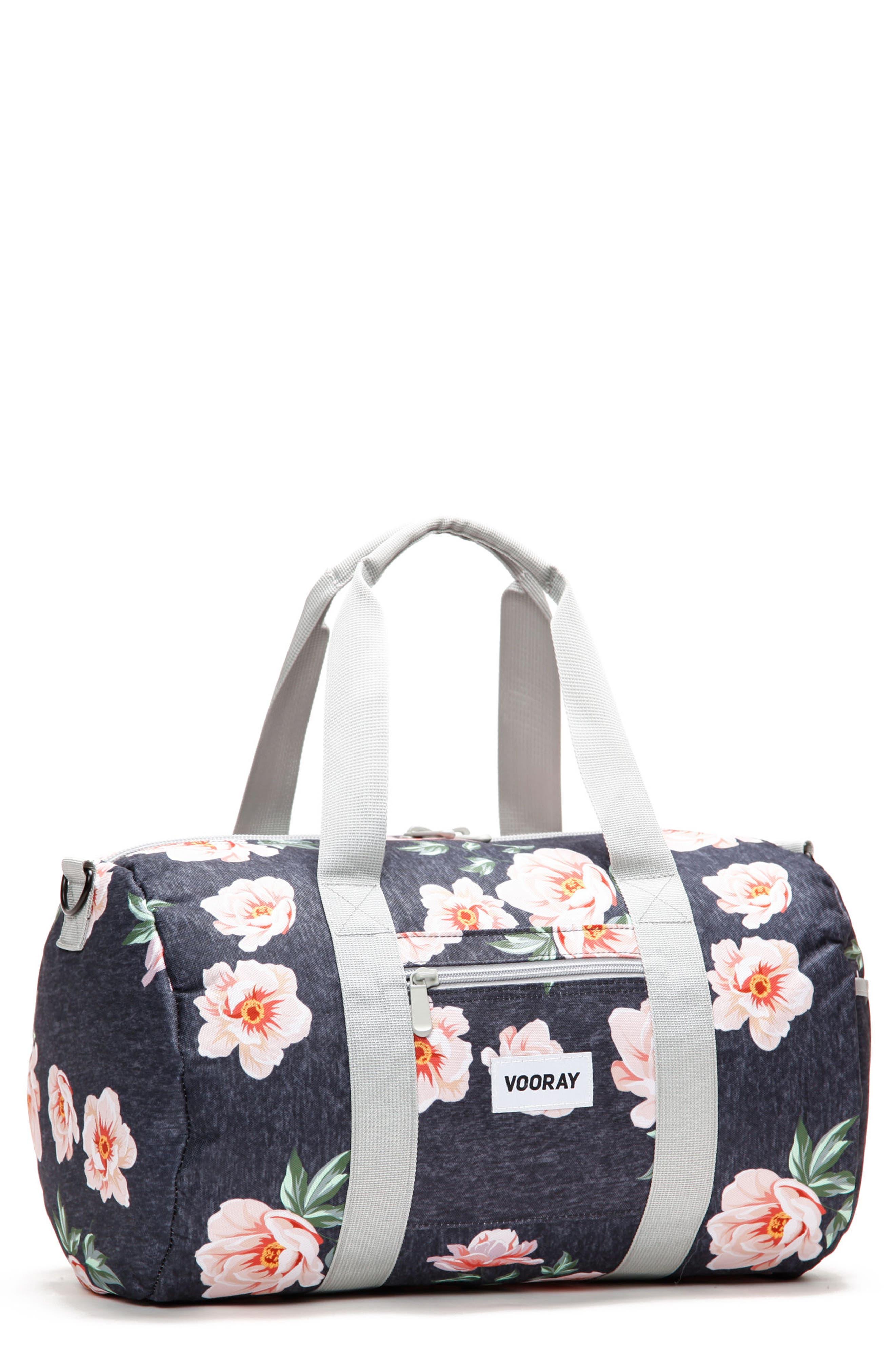 Roadie Small Duffel Bag,                             Main thumbnail 1, color,                             Rose Navy