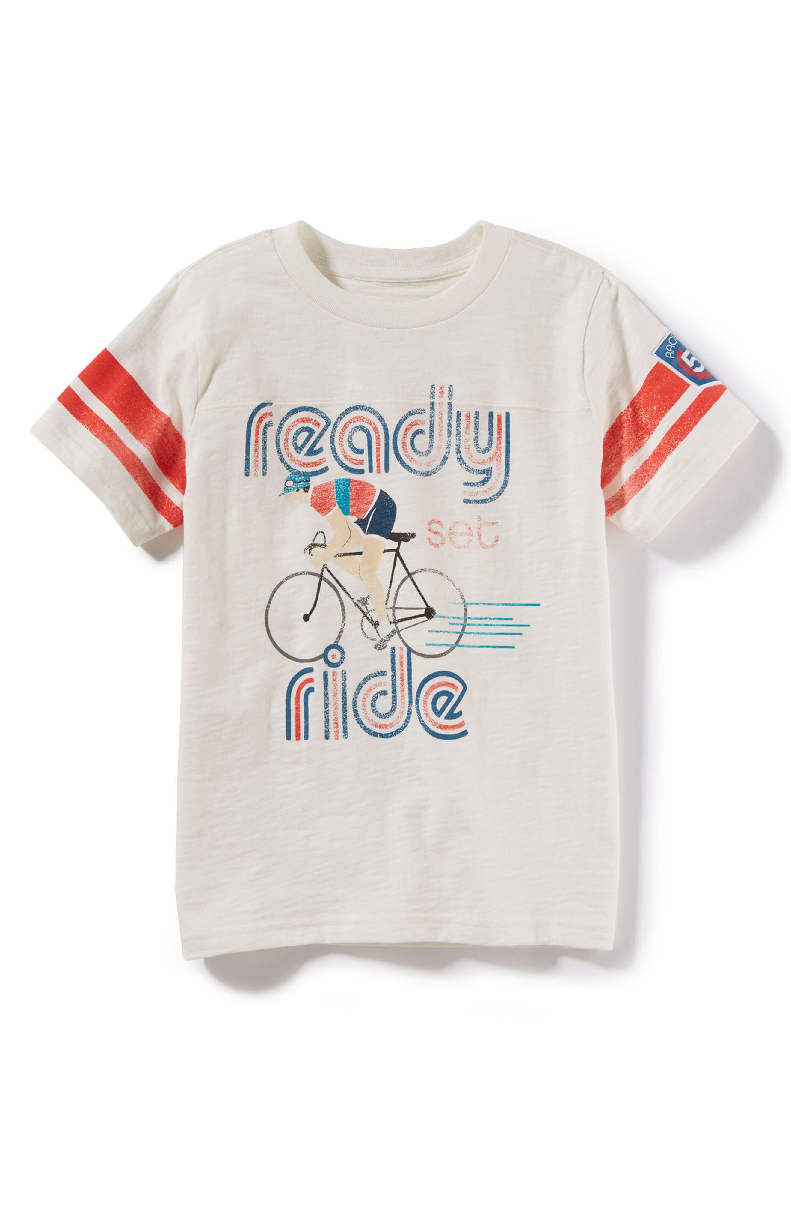 Peek Ready Set Ride Graphic T-Shirt (Toddler Boys, Little Boys & Big Boys)