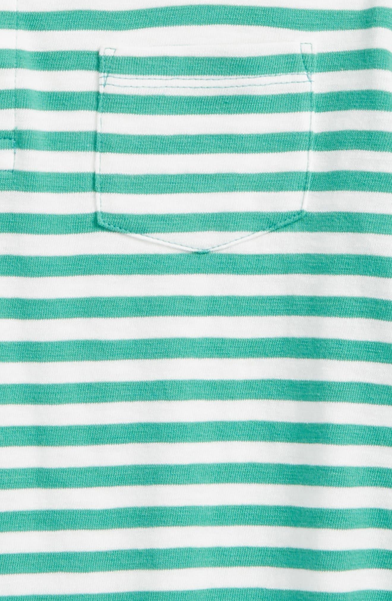 Stripe Slub Polo,                             Alternate thumbnail 2, color,                             Berkshire Ivory