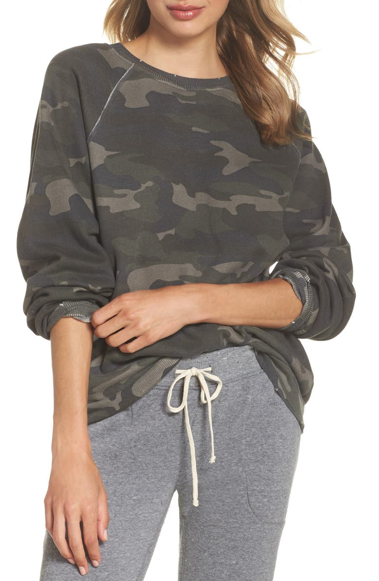 Camo Oversize Sweatshirt