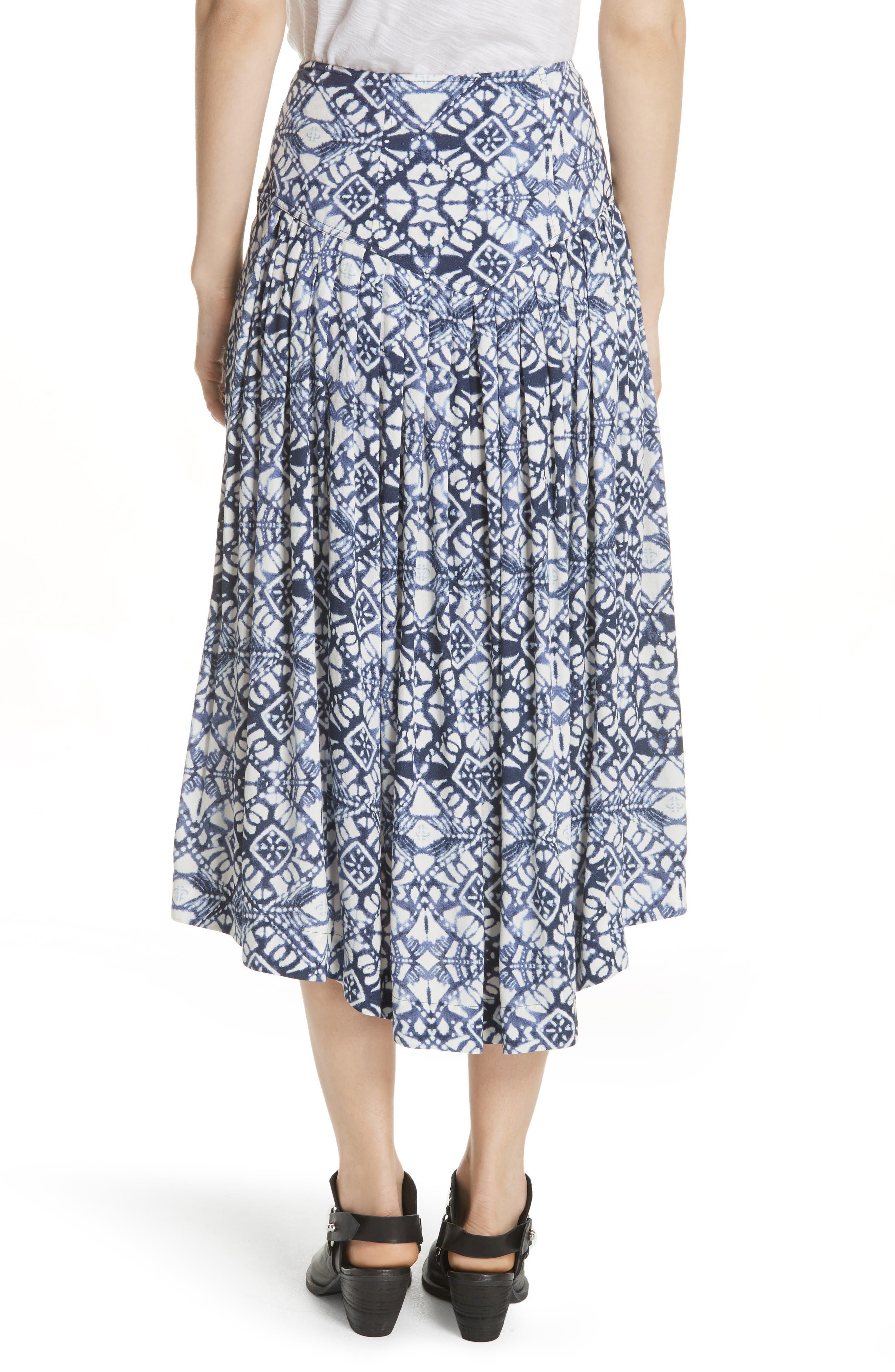 Lovers Dream Midi Skirt,                             Alternate thumbnail 2, color,                             Black