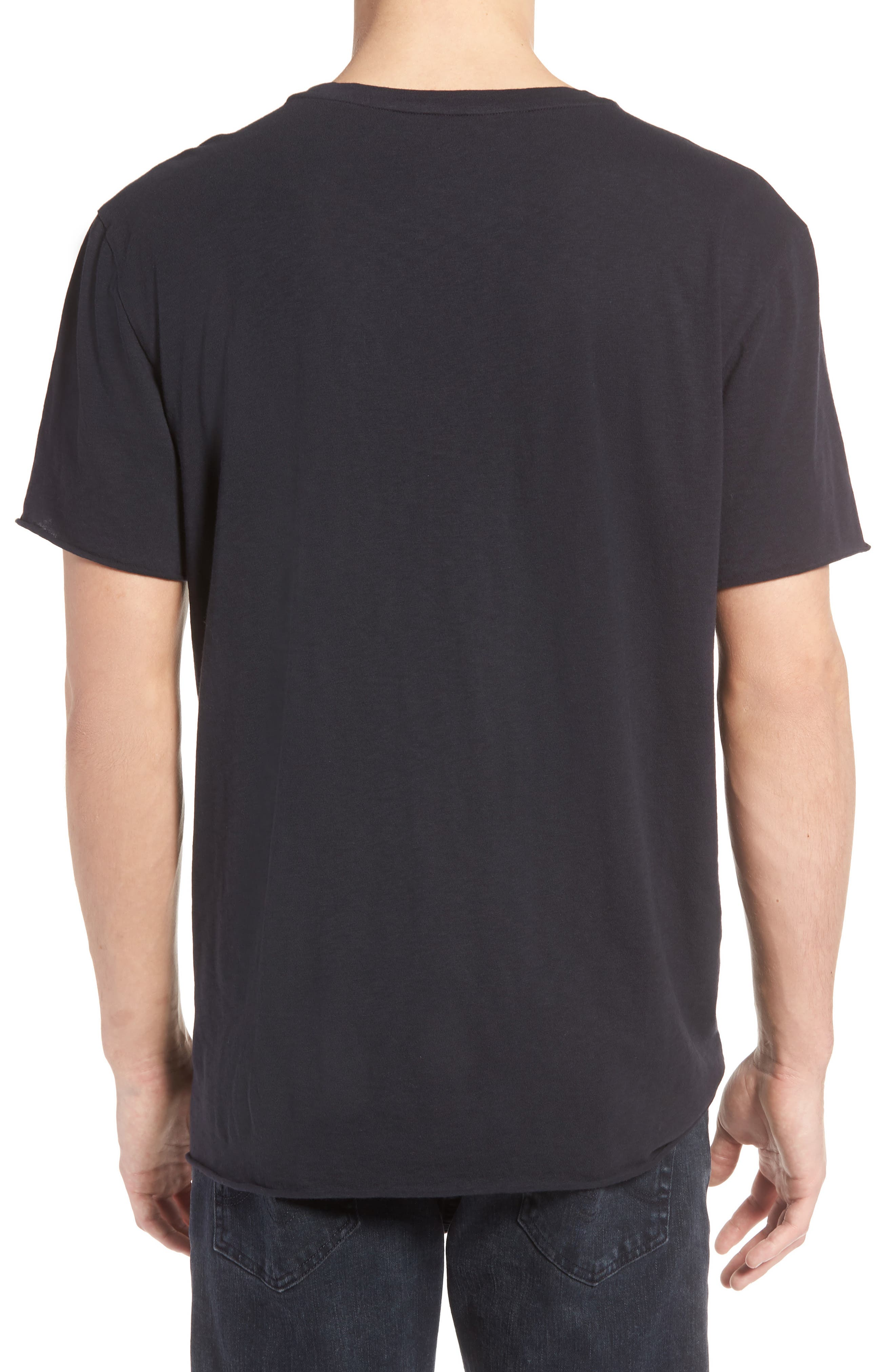 The Who Trim Fit T-Shirt,                             Alternate thumbnail 2, color,                             Black The Who