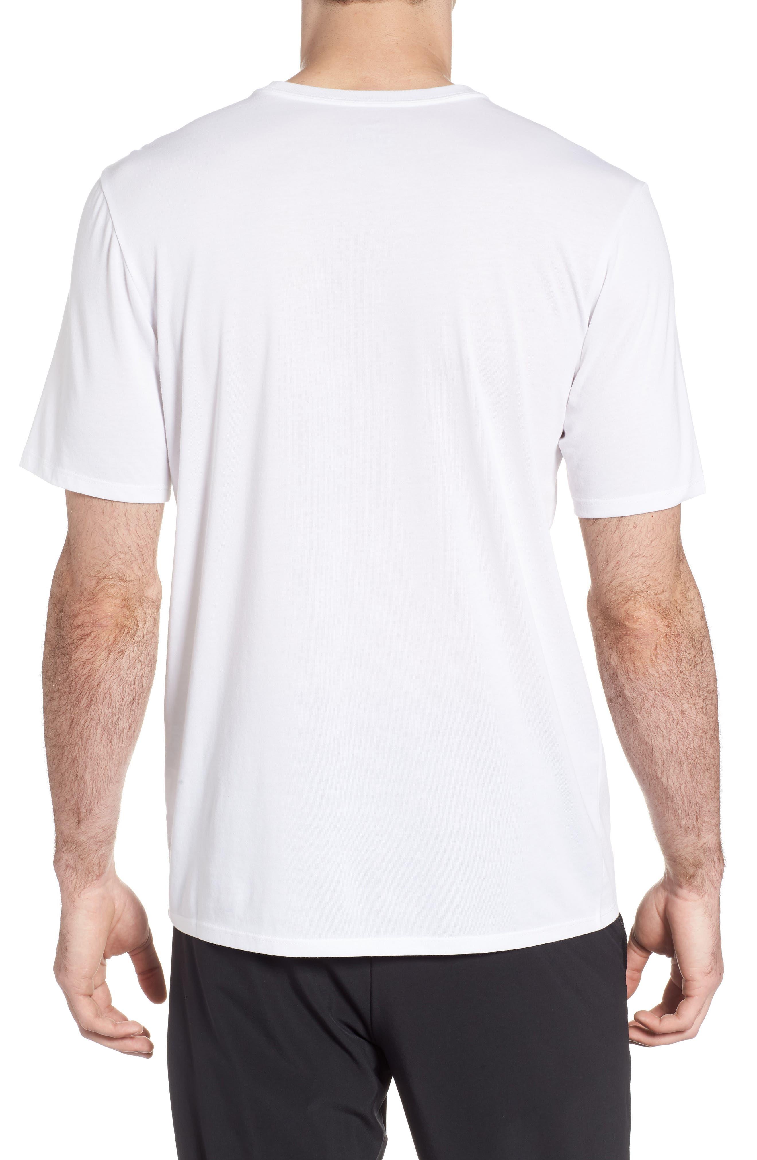 Dry Lockup T-Shirt,                             Alternate thumbnail 2, color,                             White/ Black