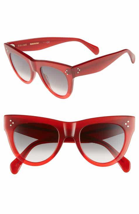 0ccf899e32bc CELINE 51mm Cat Eye Sunglasses