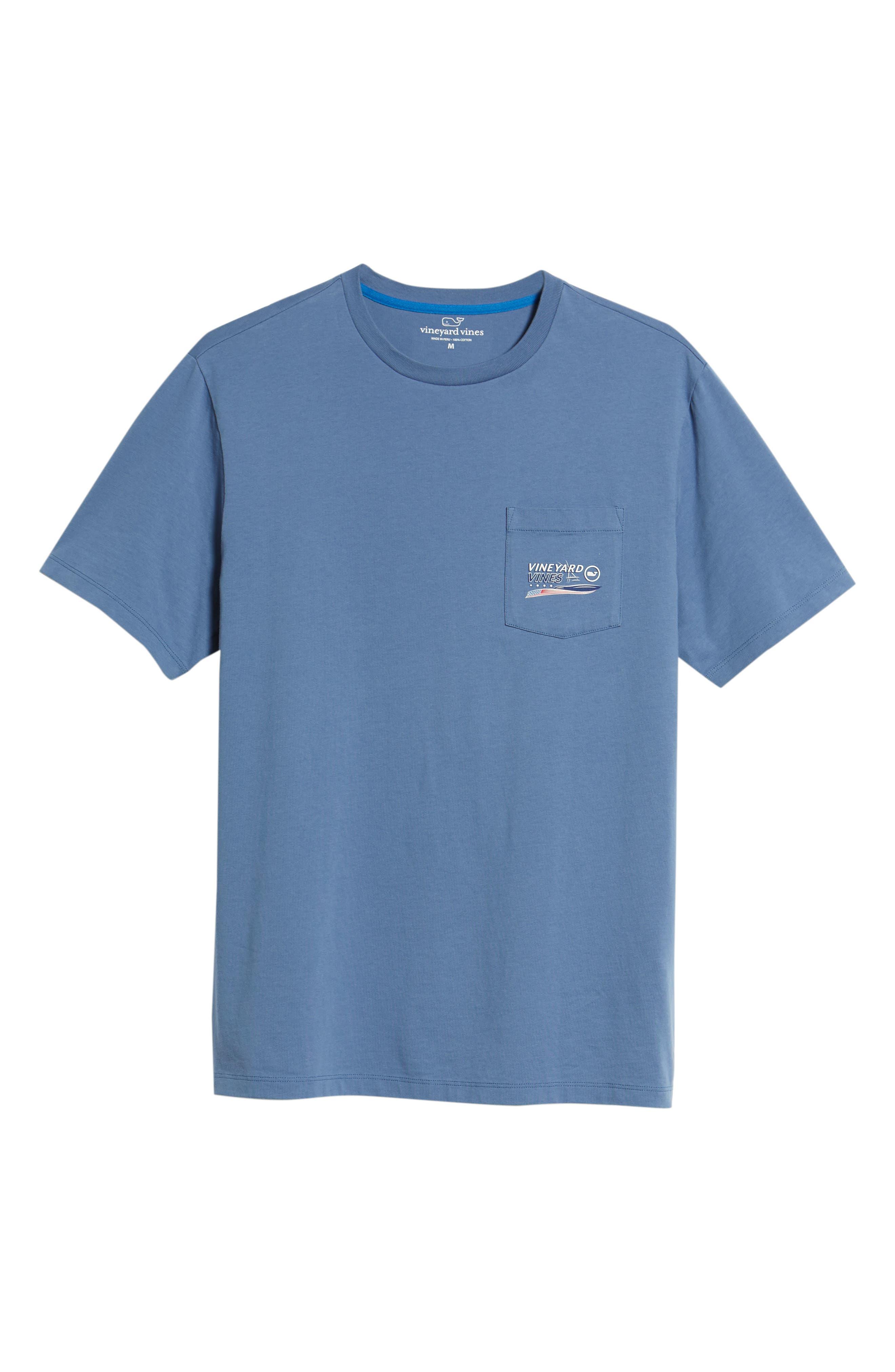 American Sportfisher T-Shirt,                             Alternate thumbnail 6, color,                             Moonshine