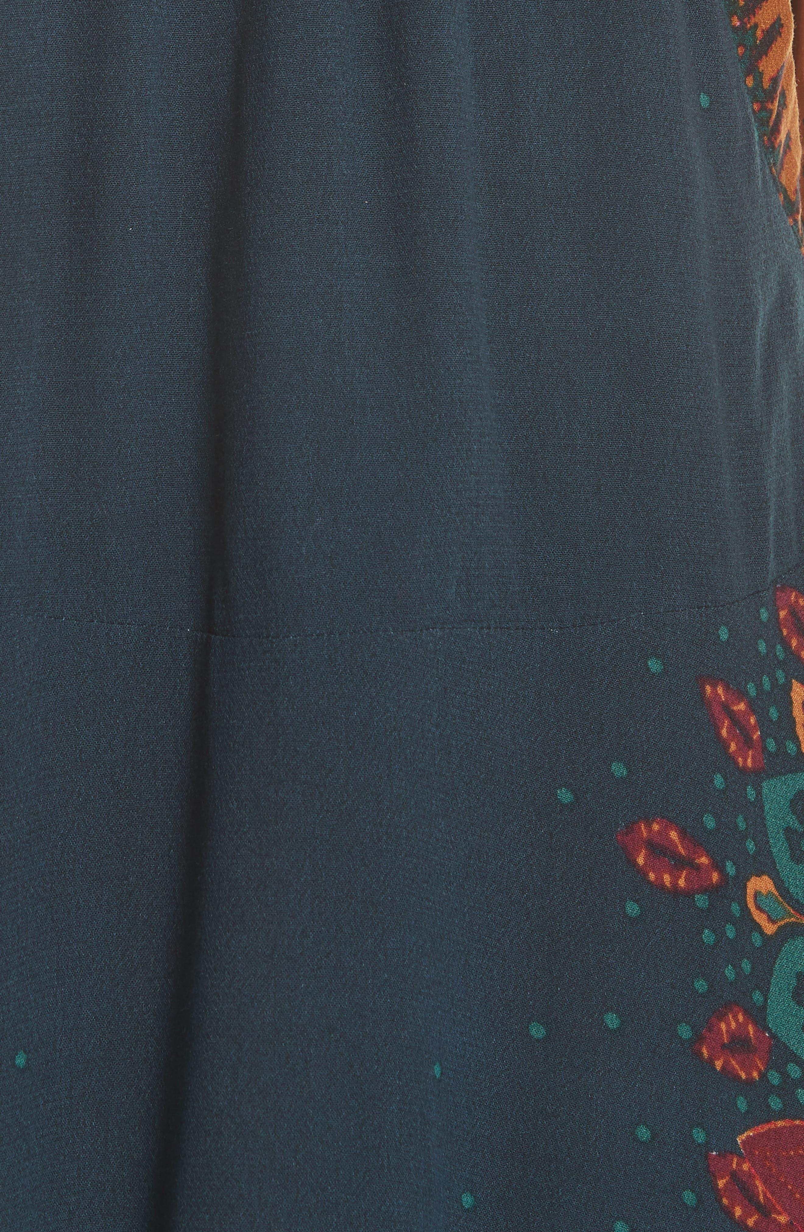 Steal the Sun Reversible Dress,                             Alternate thumbnail 5, color,                             Blue