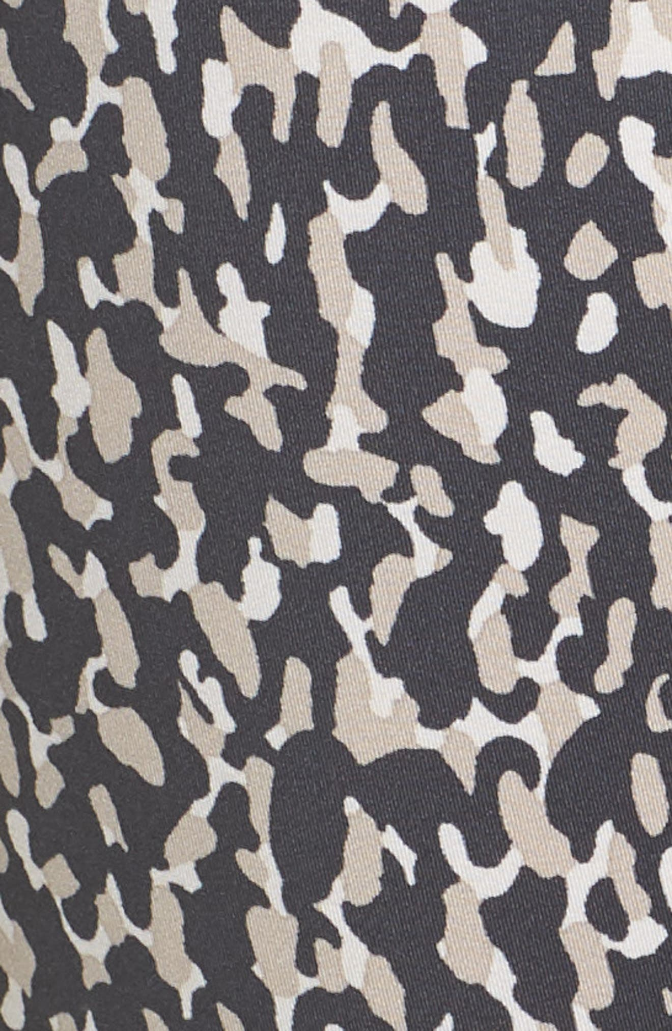 Leopard Camo Leggings,                             Alternate thumbnail 3, color,                             Leoflage Aop