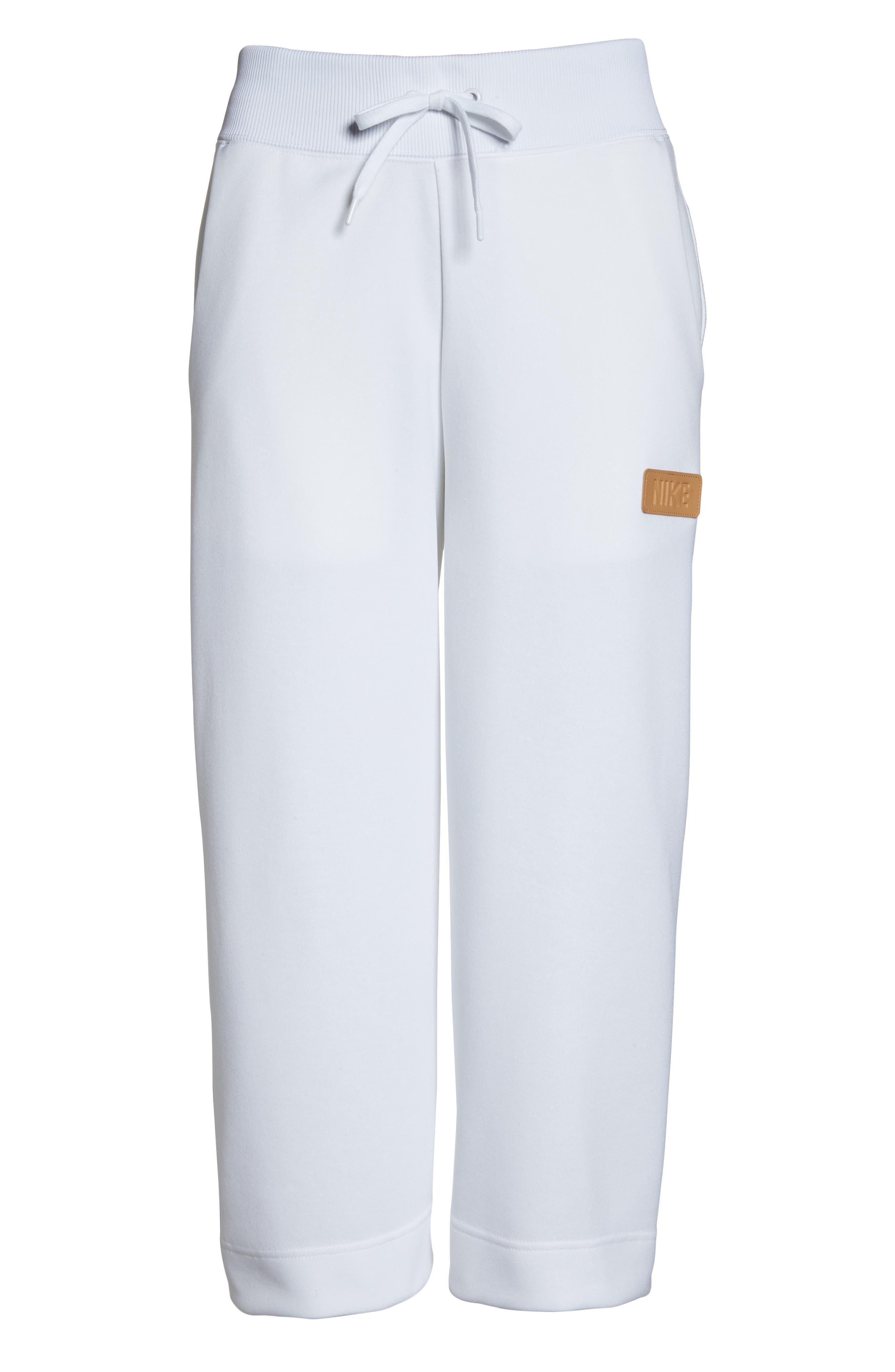 Sportswear Beautiful x Powerful Crop Pants,                             Alternate thumbnail 7, color,                             White