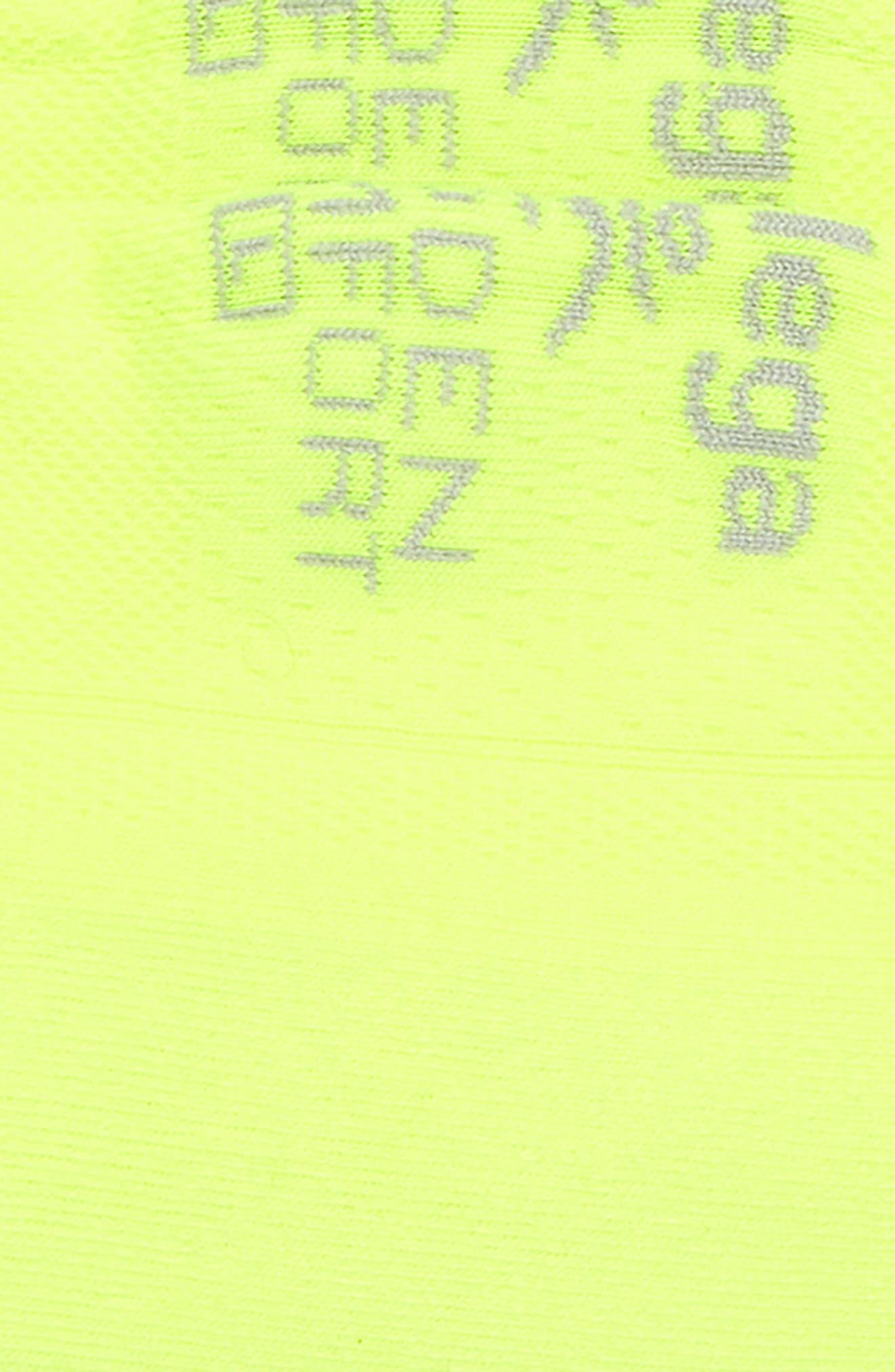 Hidden Comfort Socks,                             Alternate thumbnail 2, color,                             Zesty Lemon