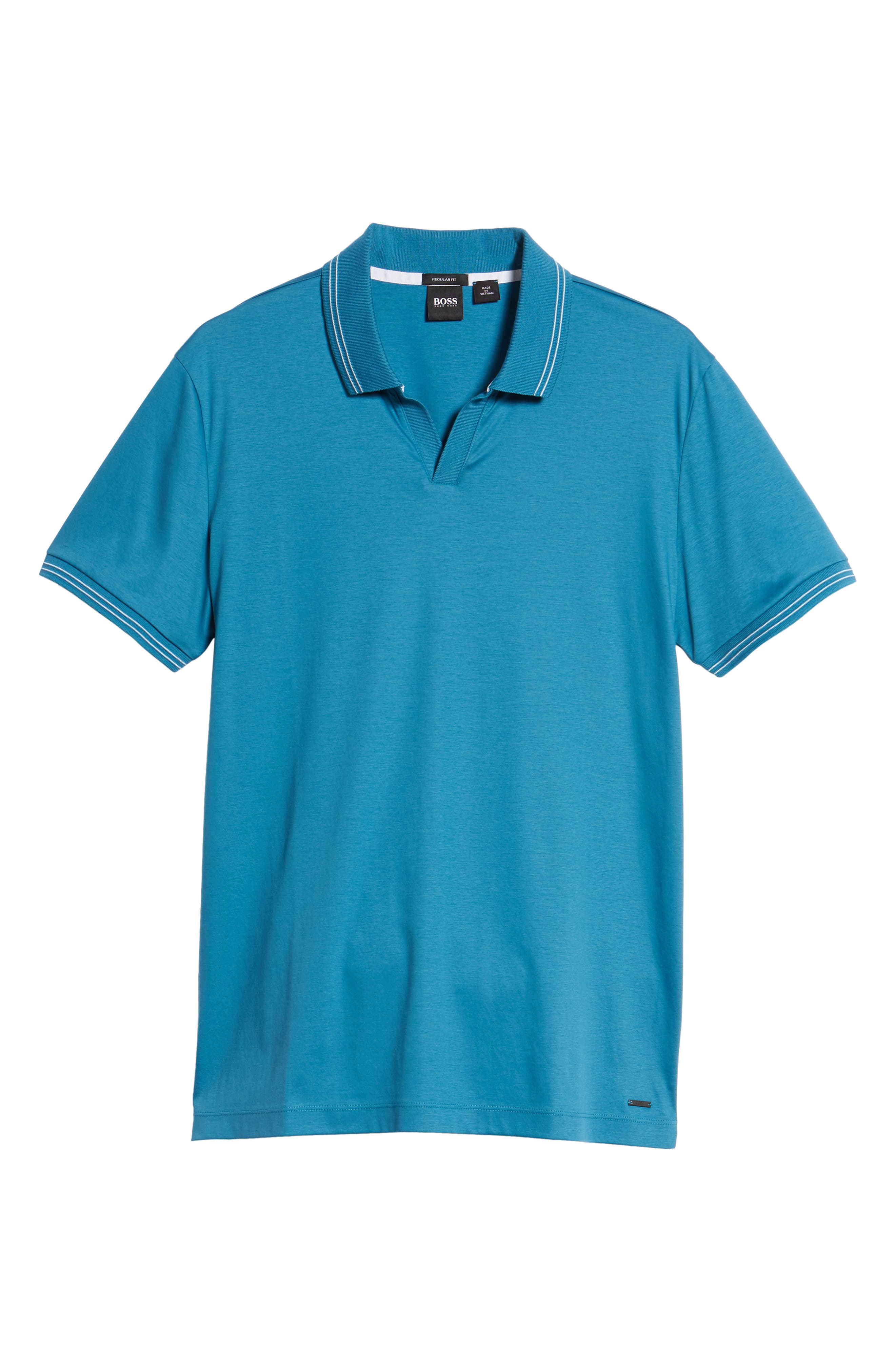 Parlay Johnny Polo Shirt,                             Alternate thumbnail 6, color,                             Blue