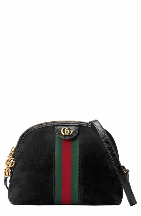 Gucci Small Suede Shoulder Bag