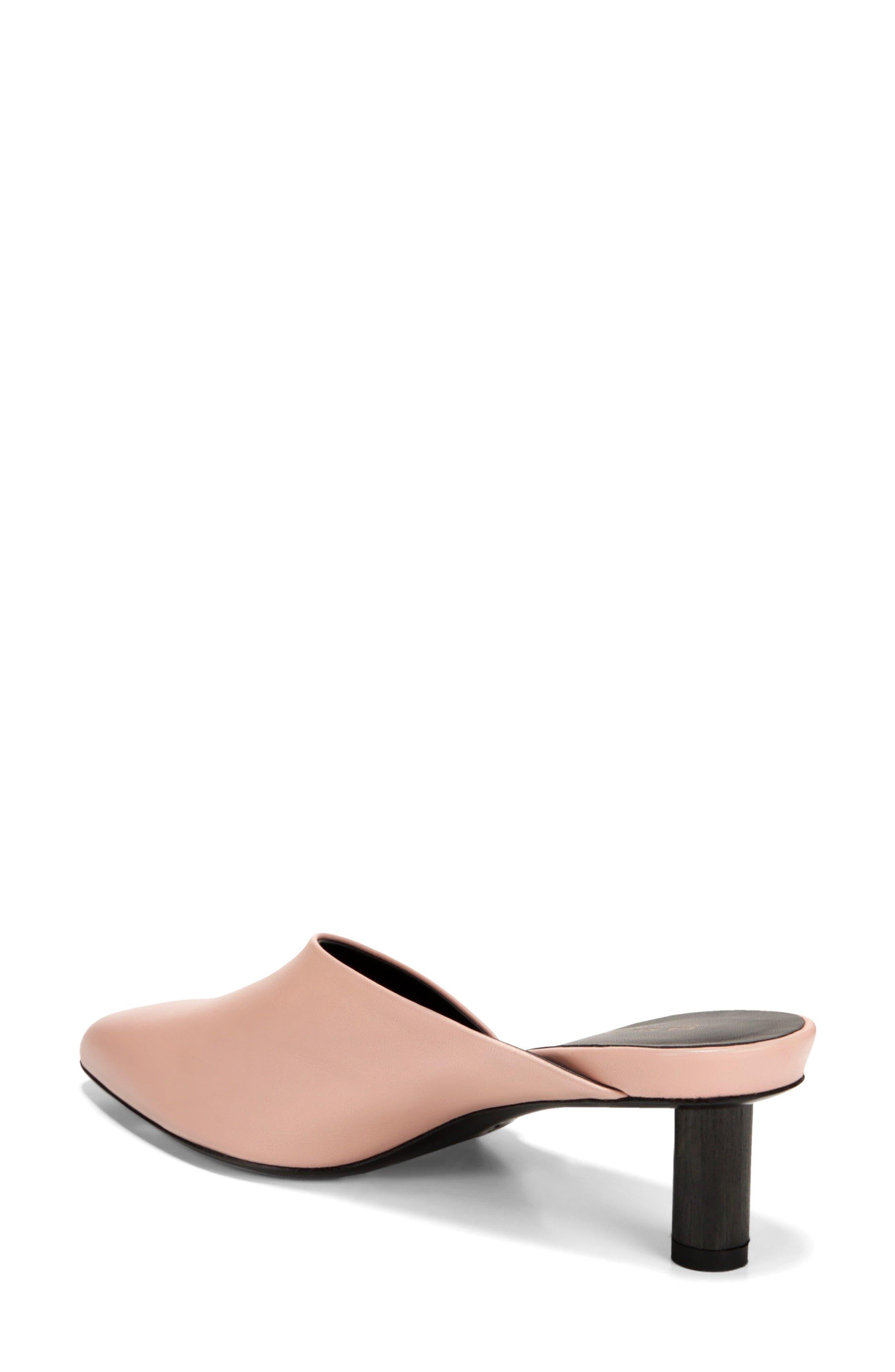 Freya Asymmetrical Mule,                             Alternate thumbnail 2, color,                             Sand Leather