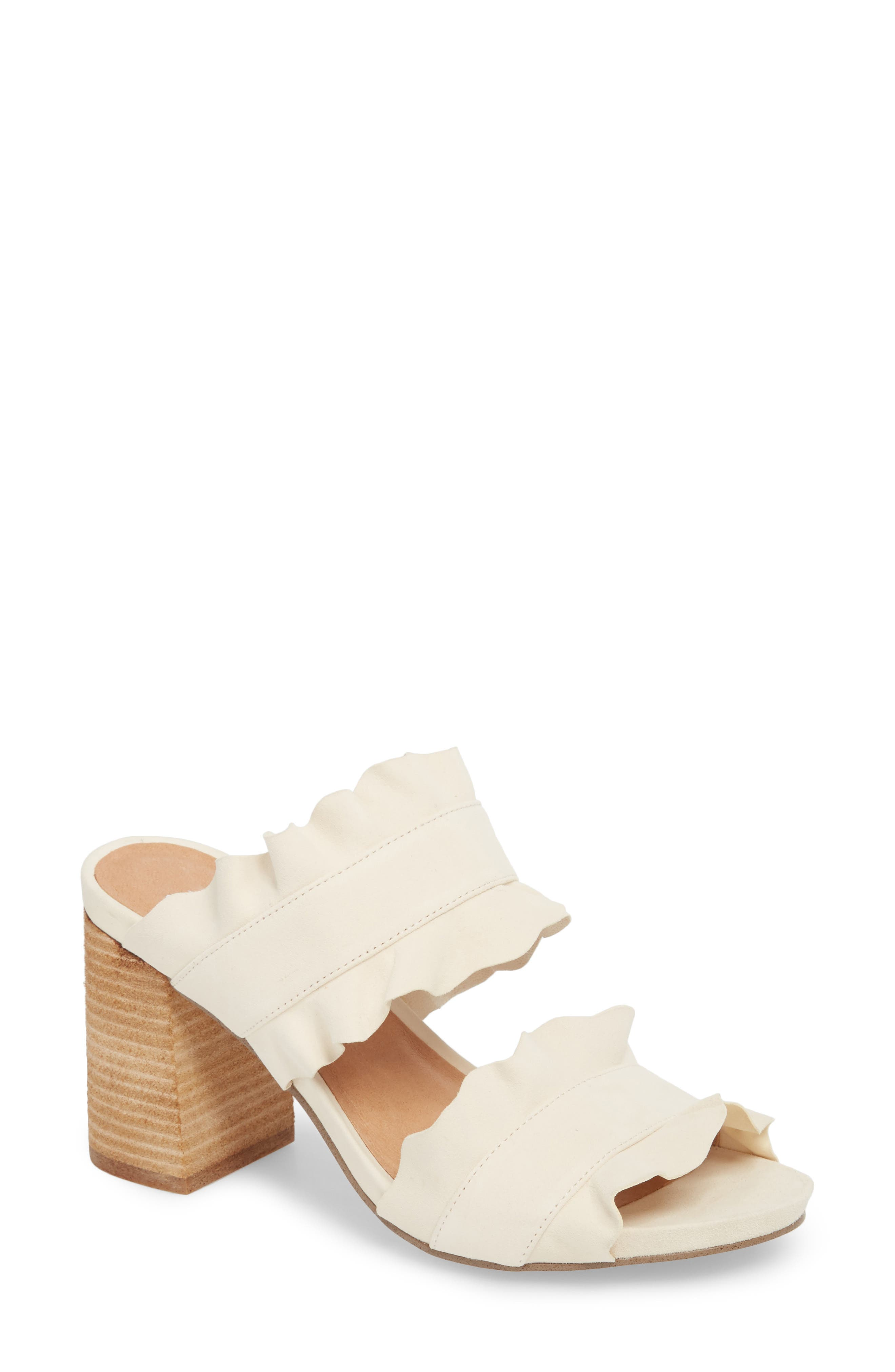 Rosie Ruffle Slide Sandal by Free People