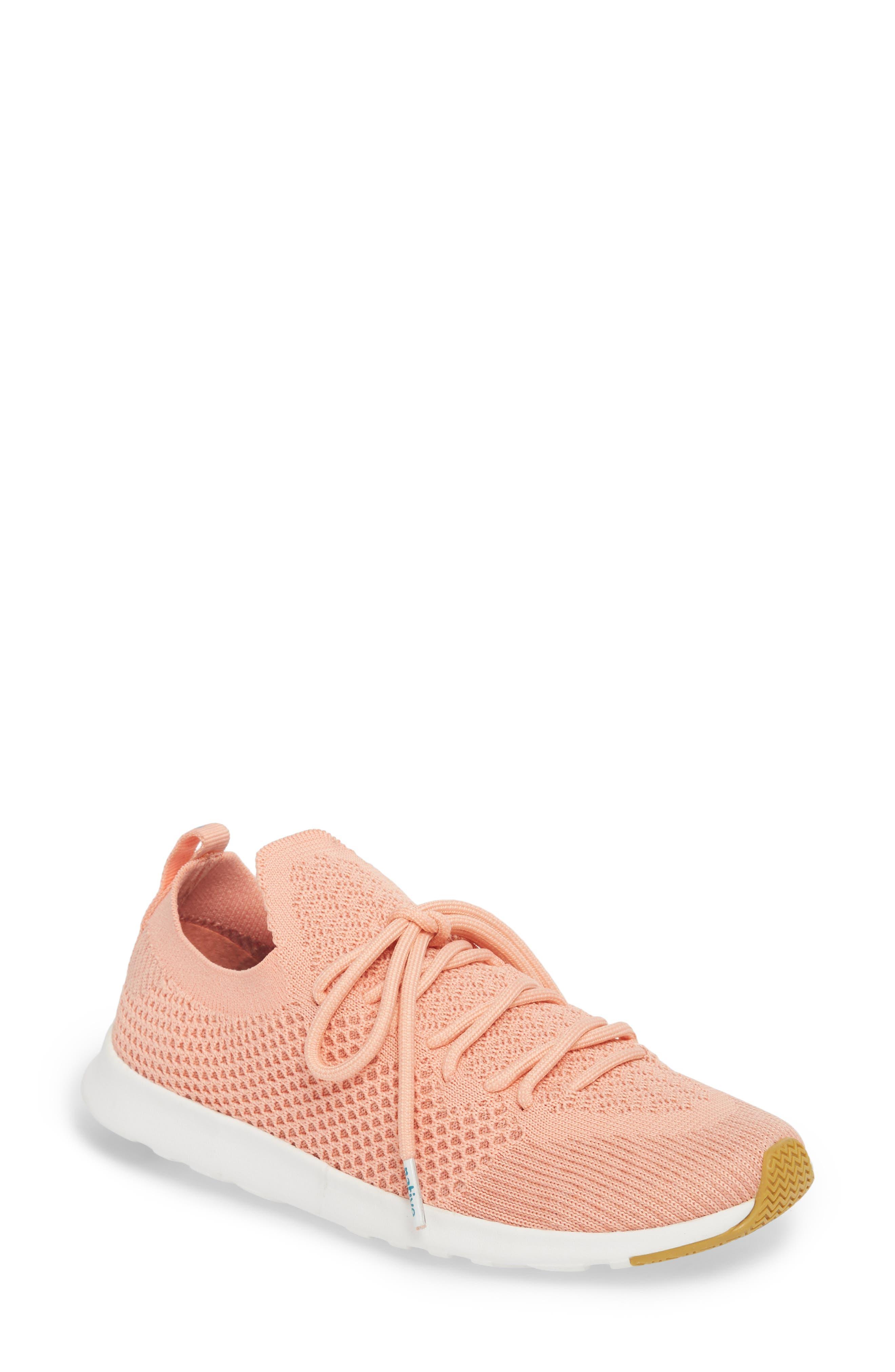 AP Mercury Liteknit Sneaker,                             Main thumbnail 1, color,                             Clay Pink/ Shell White