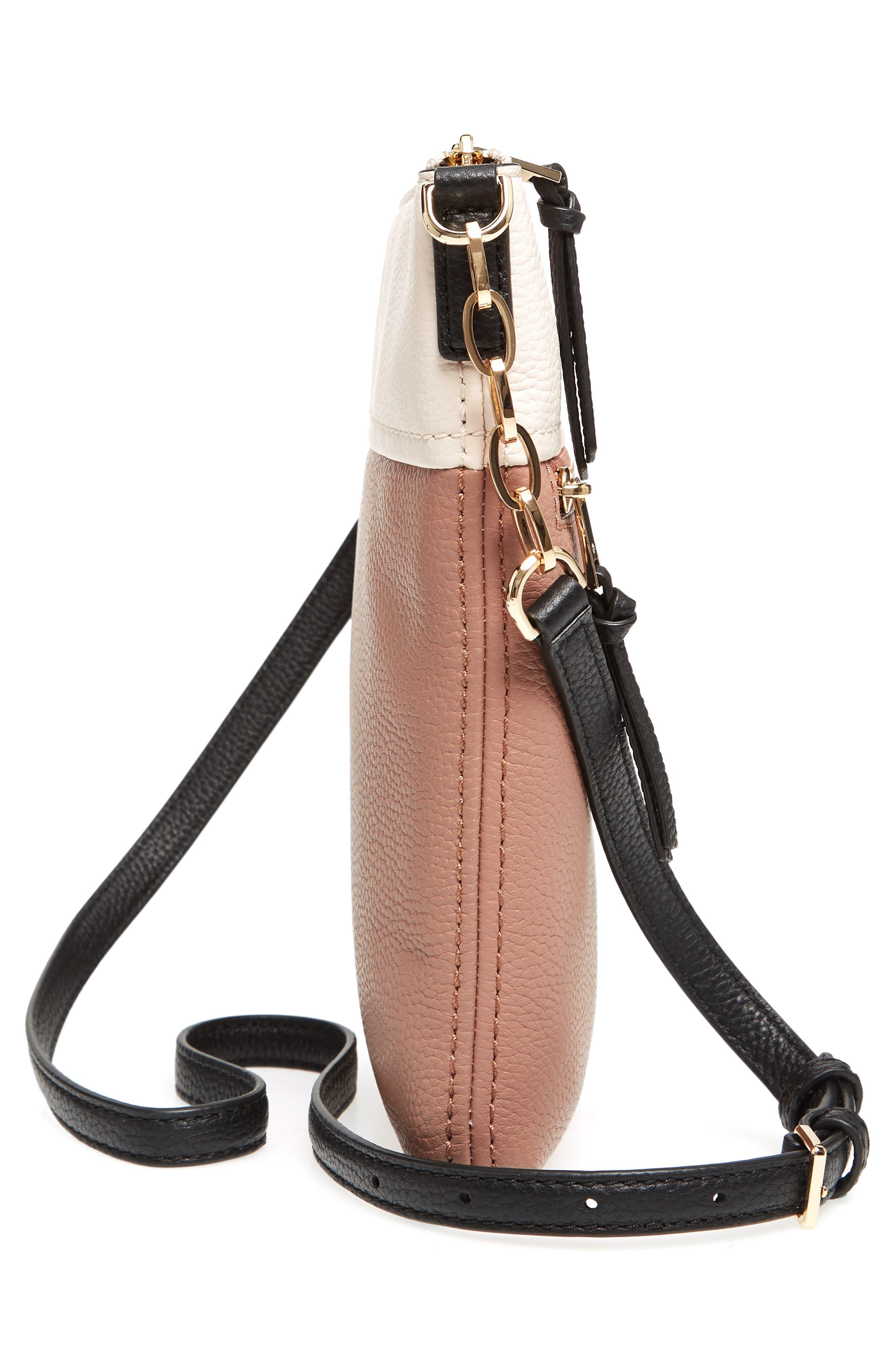 jackson street - melisse crossbody bag,                             Alternate thumbnail 5, color,                             Black/ Toasty Multi