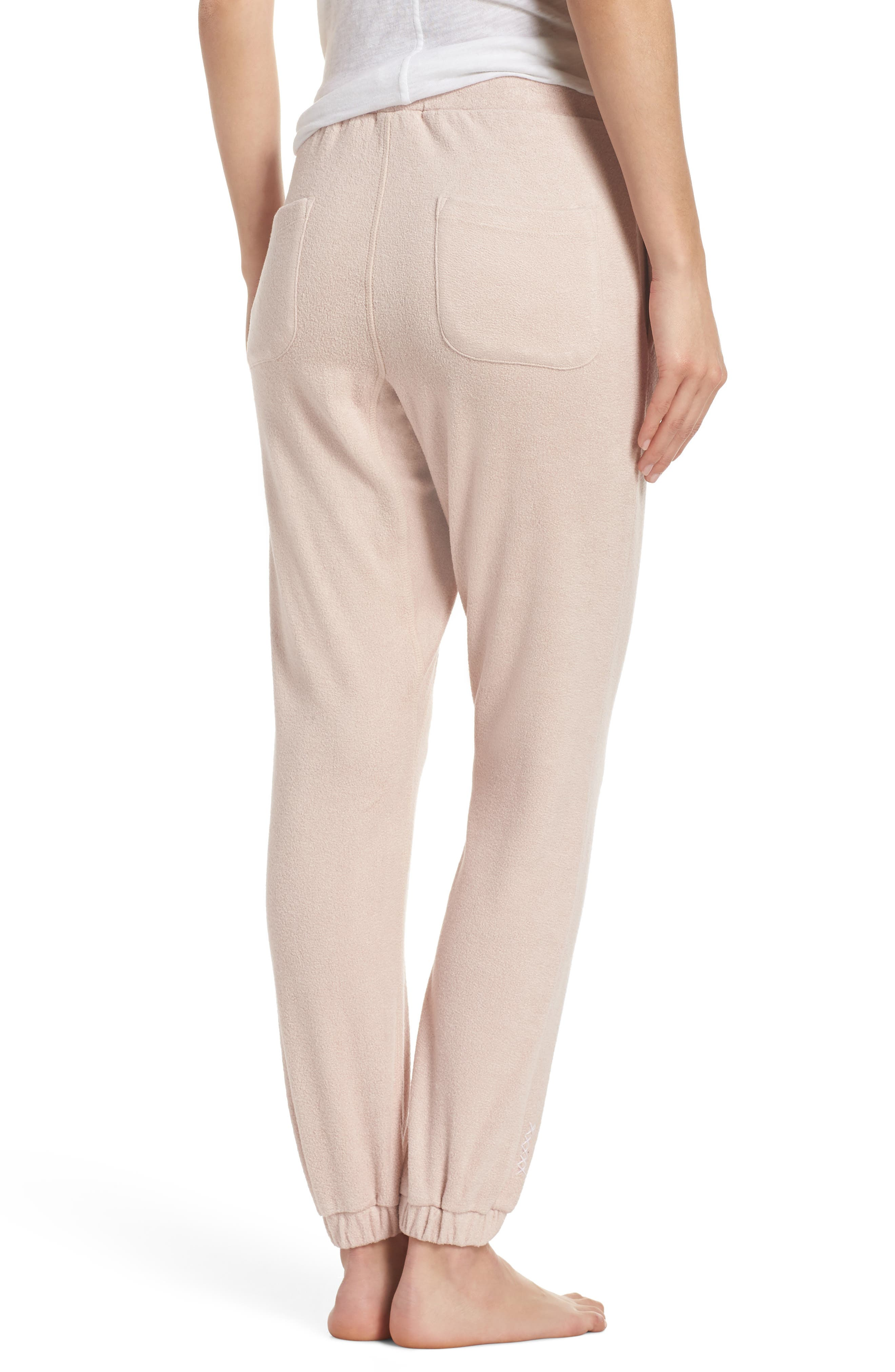 Lounge Pant,                             Alternate thumbnail 2, color,                             Dusty Pink